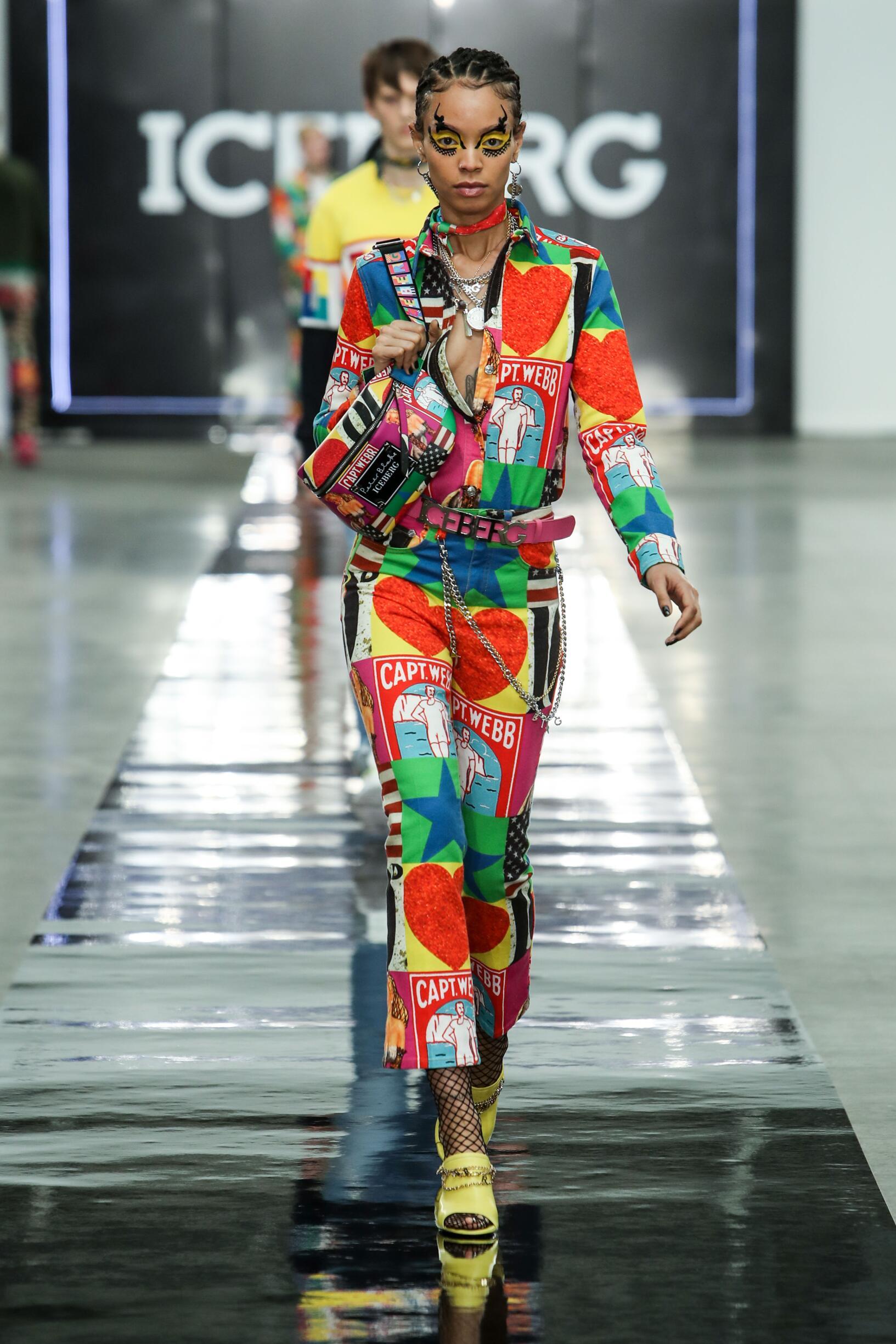 SS 2020 Fashion Show Iceberg