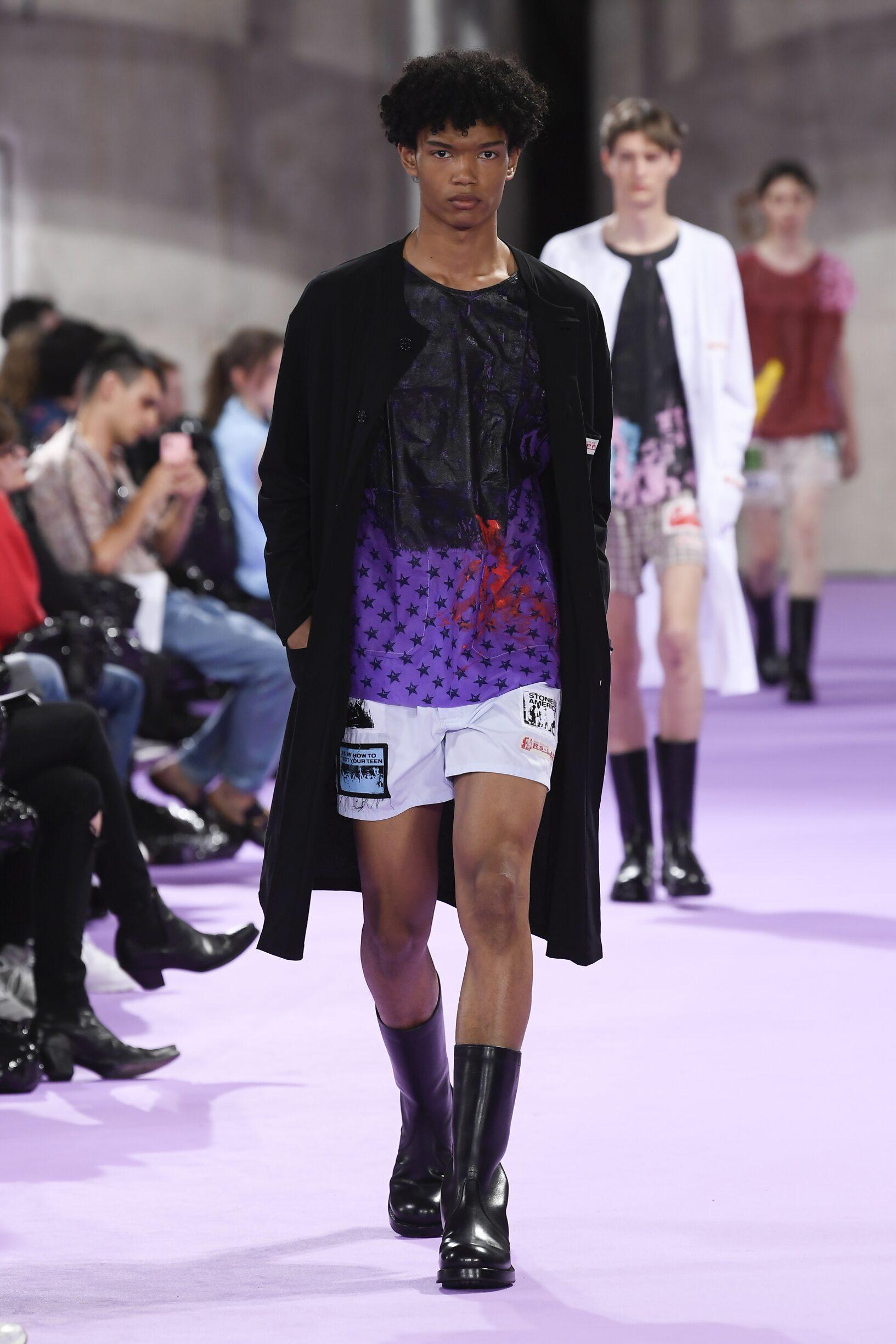 SS 2020 Fashion Show Raf Simons