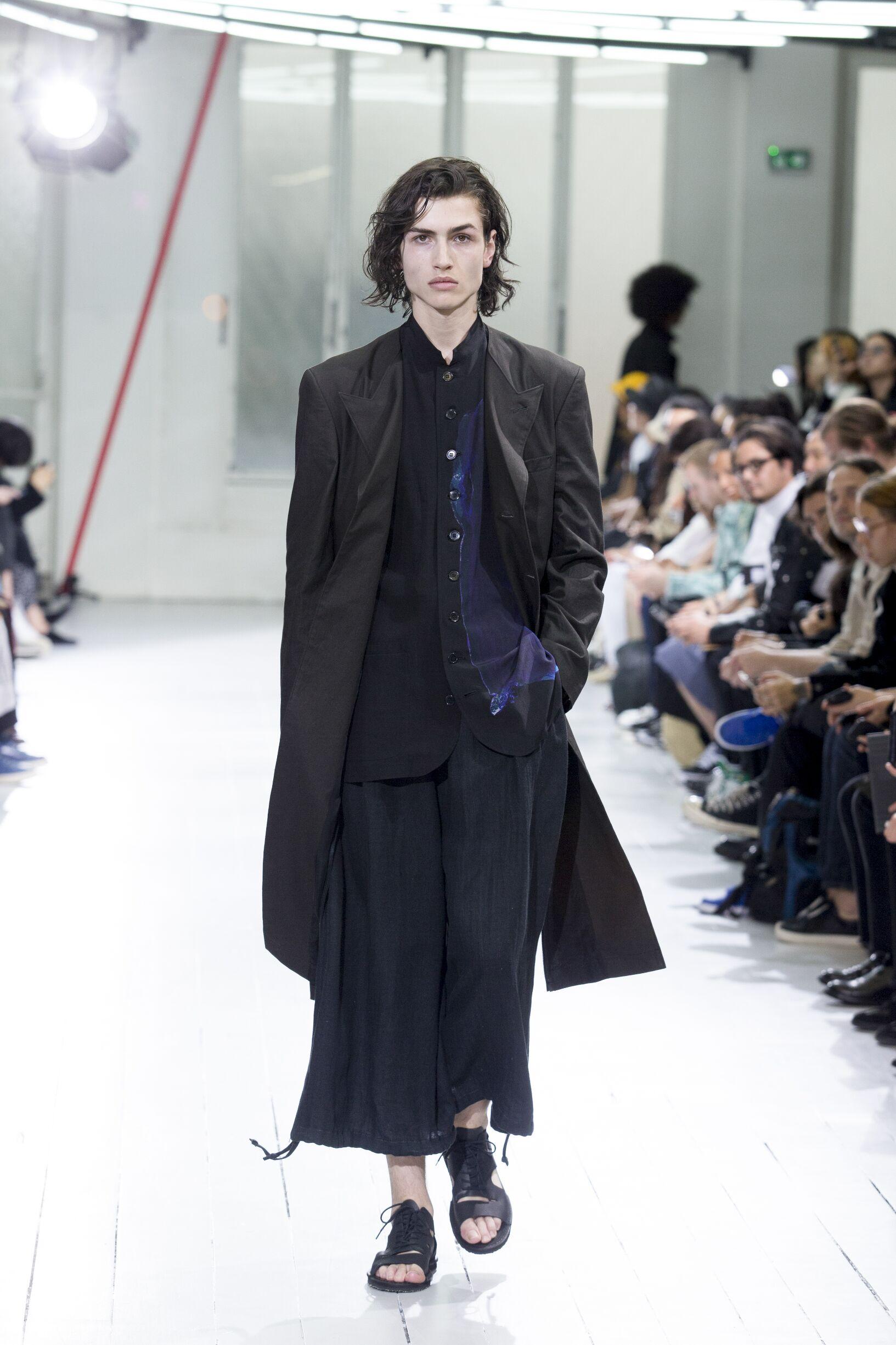 SS 2020 Fashion Show Yohji Yamamoto