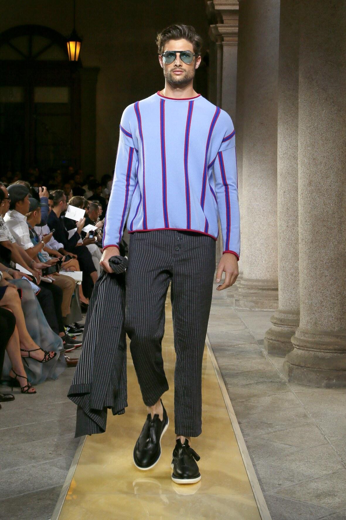 SS 2020 Giorgio Armani Fashion Show Milan Fashion Week