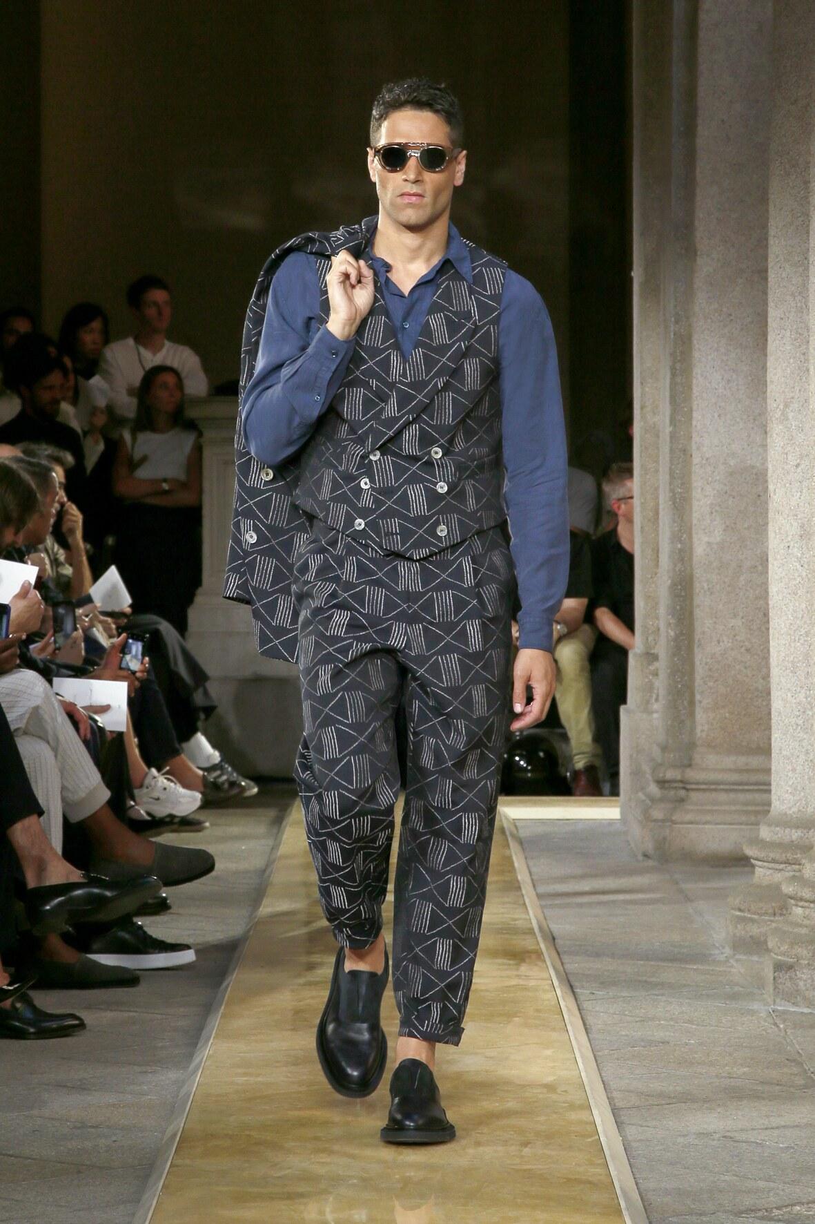 SS 2020 Giorgio Armani Fashion Show Milan