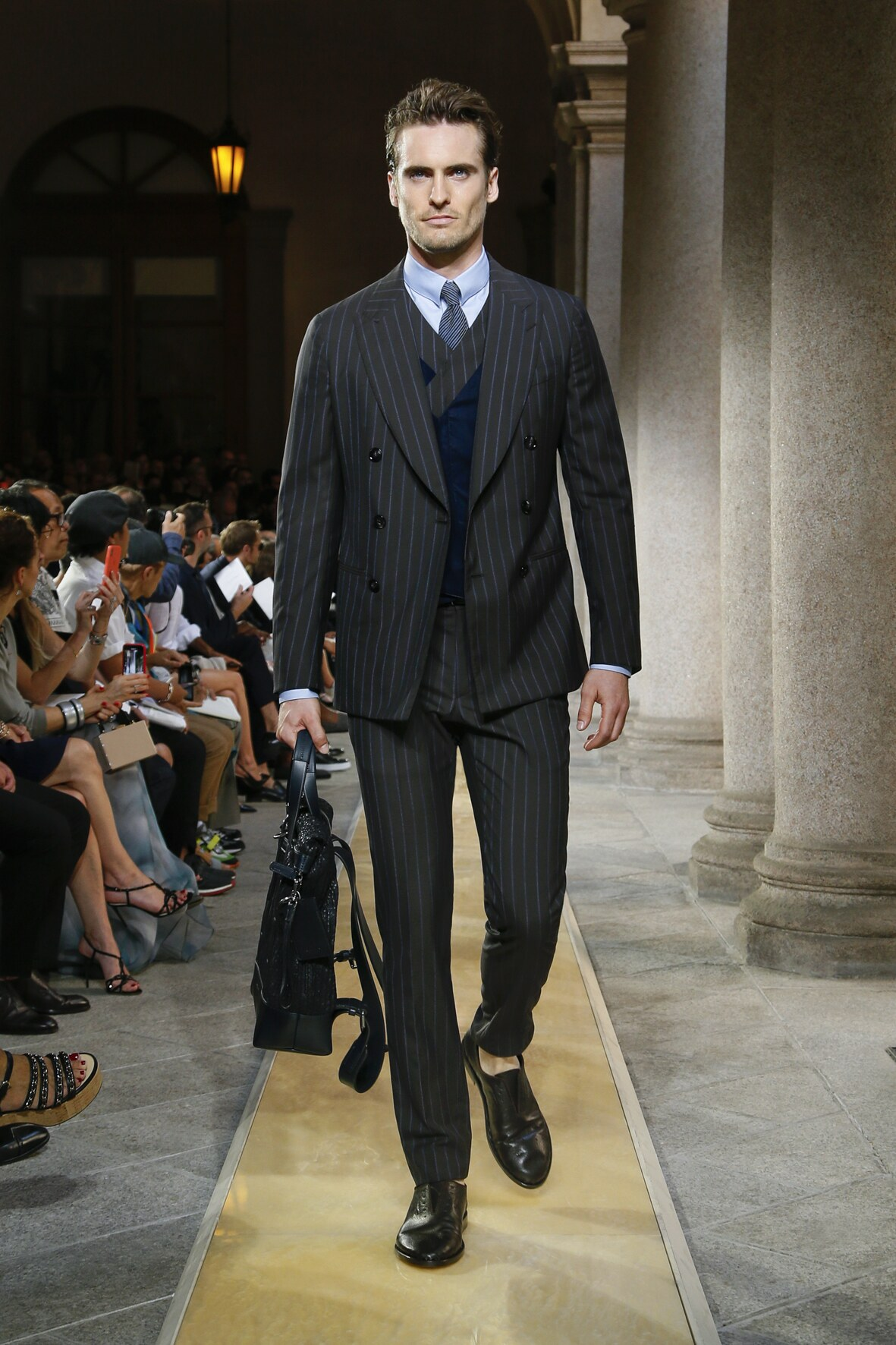 SS 2020 Giorgio Armani Fashion Show