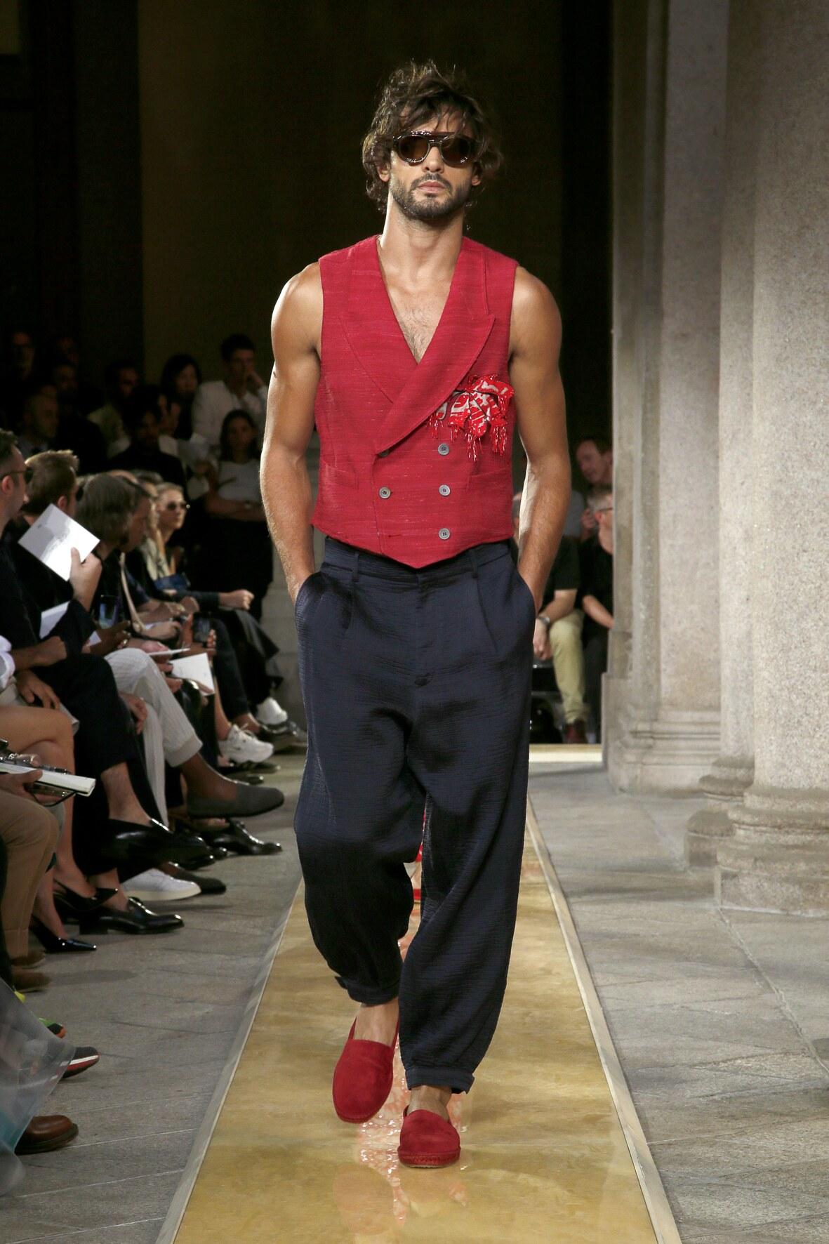SS 2020 Giorgio Armani Show Milan Fashion Menswear