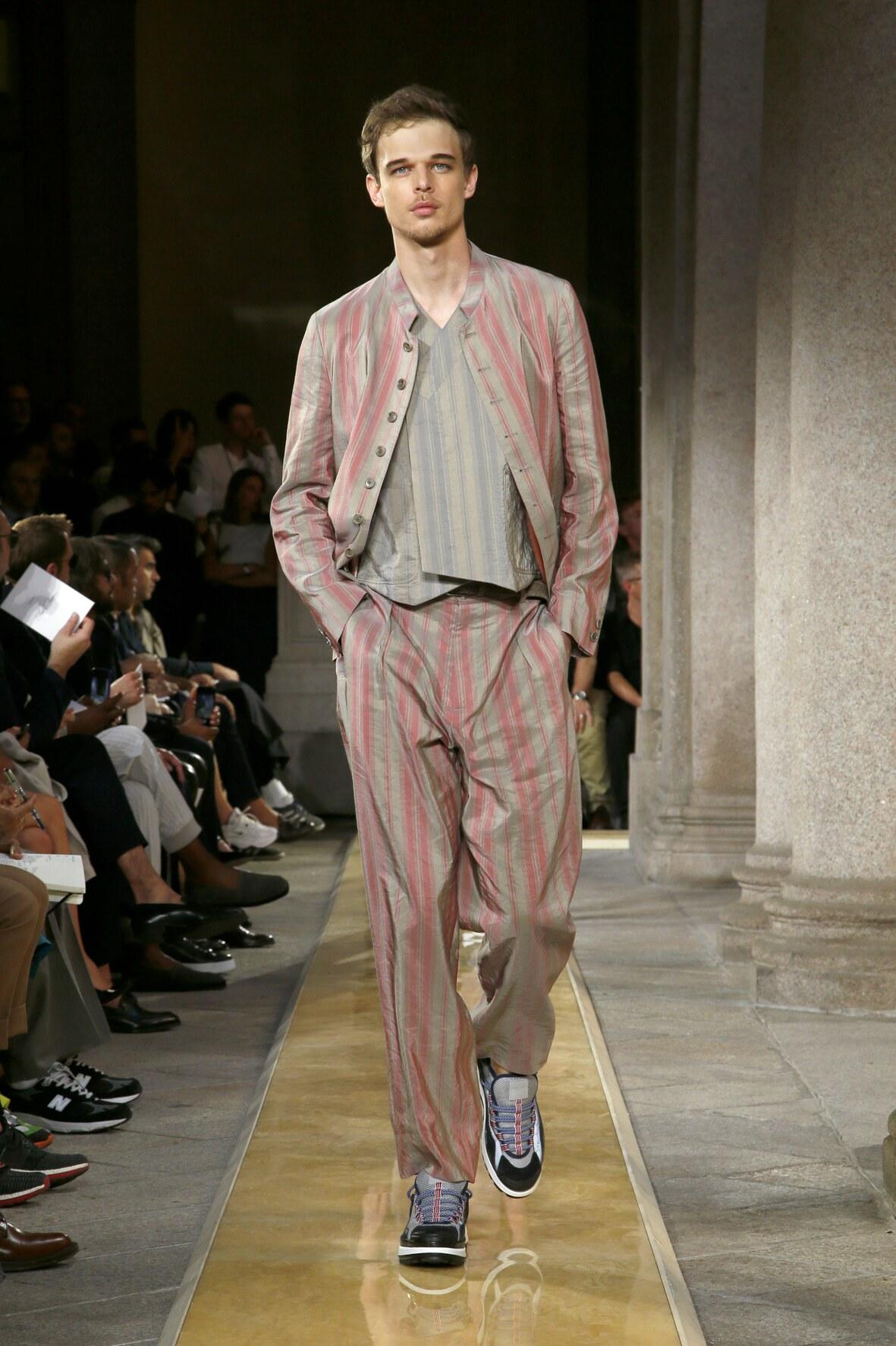 SS 2020 Giorgio Armani Show Milan Fashion Week Menswear