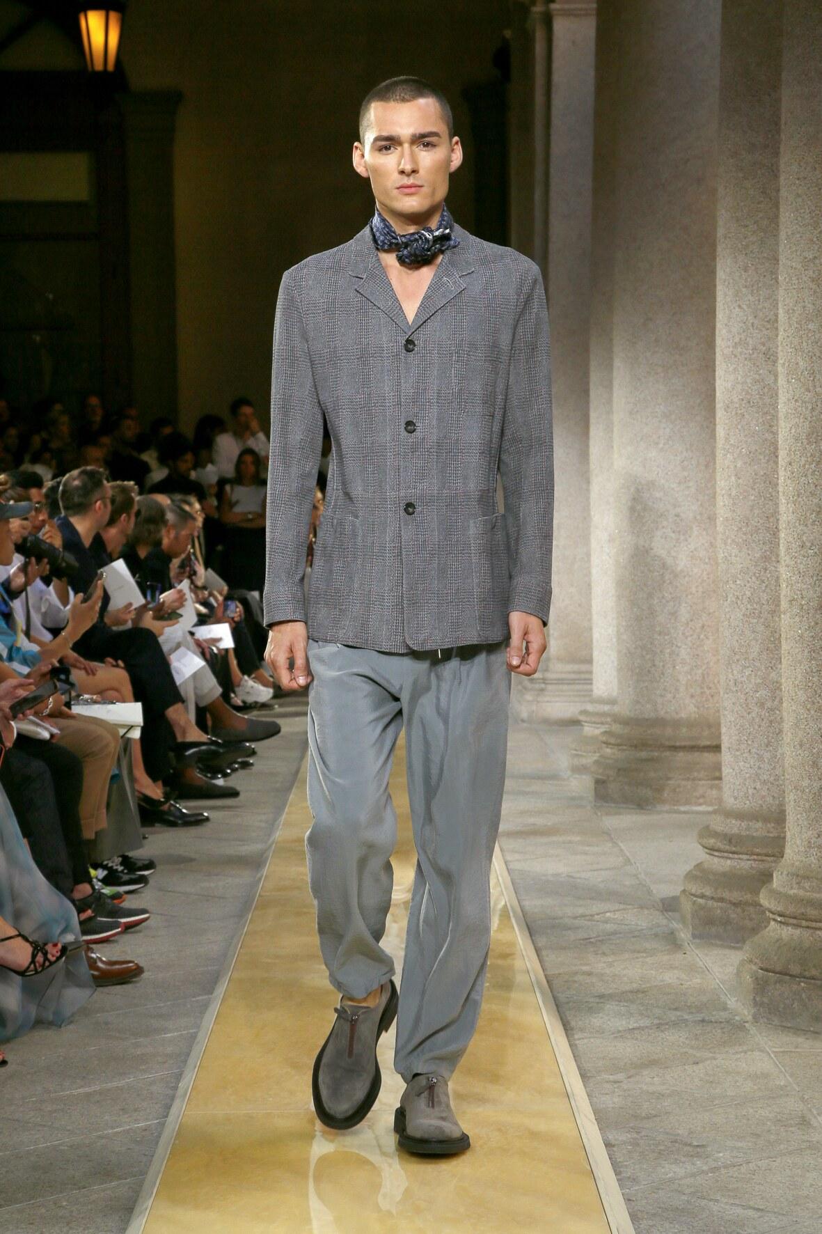 SS 2020 Giorgio Armani Show Milan Fashion Week
