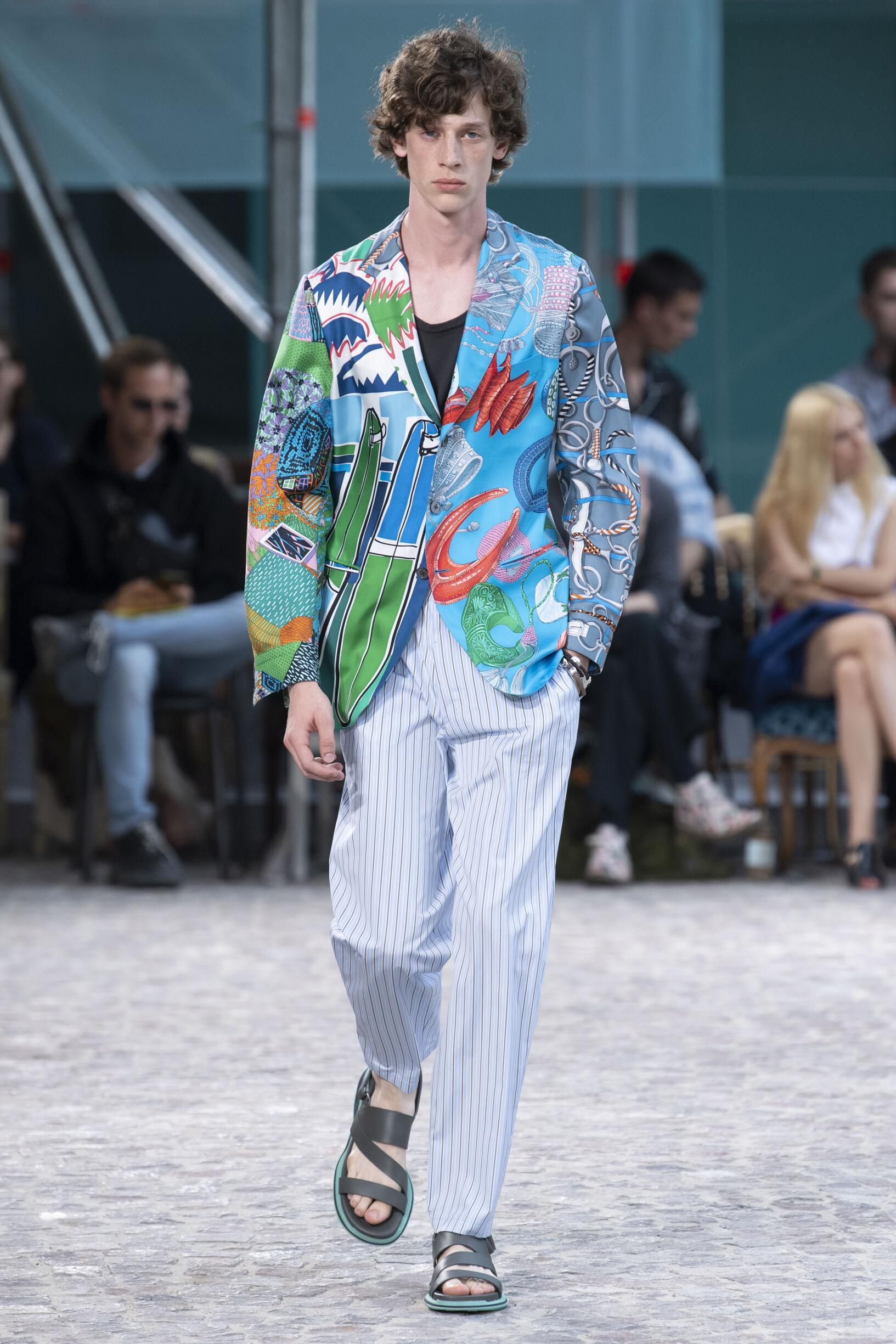 HERMÈS SPRING SUMMER 2020 MEN'S COLLECTION | The Skinny Beep