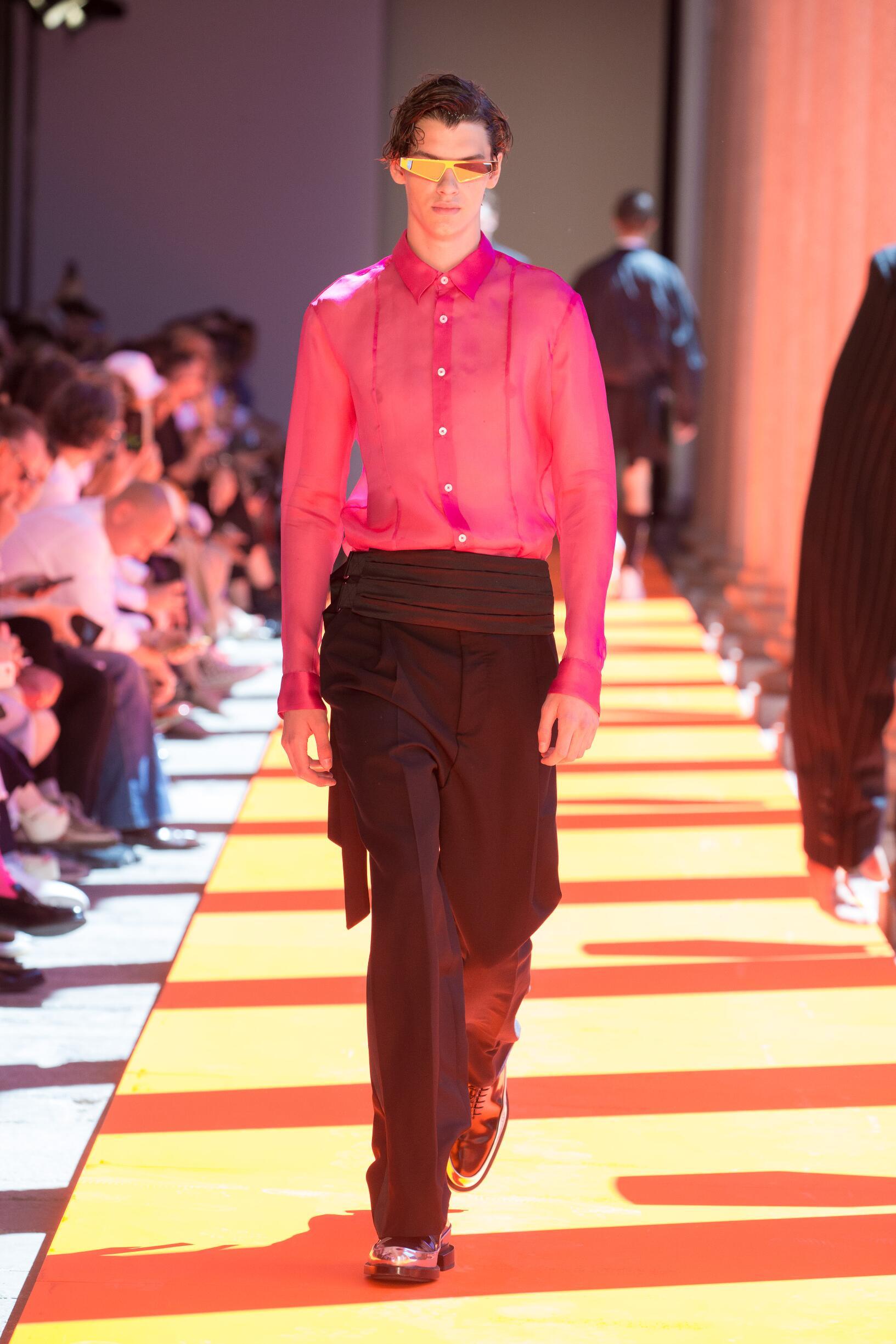 SS 2020 Les Hommes Fashion Show Milan