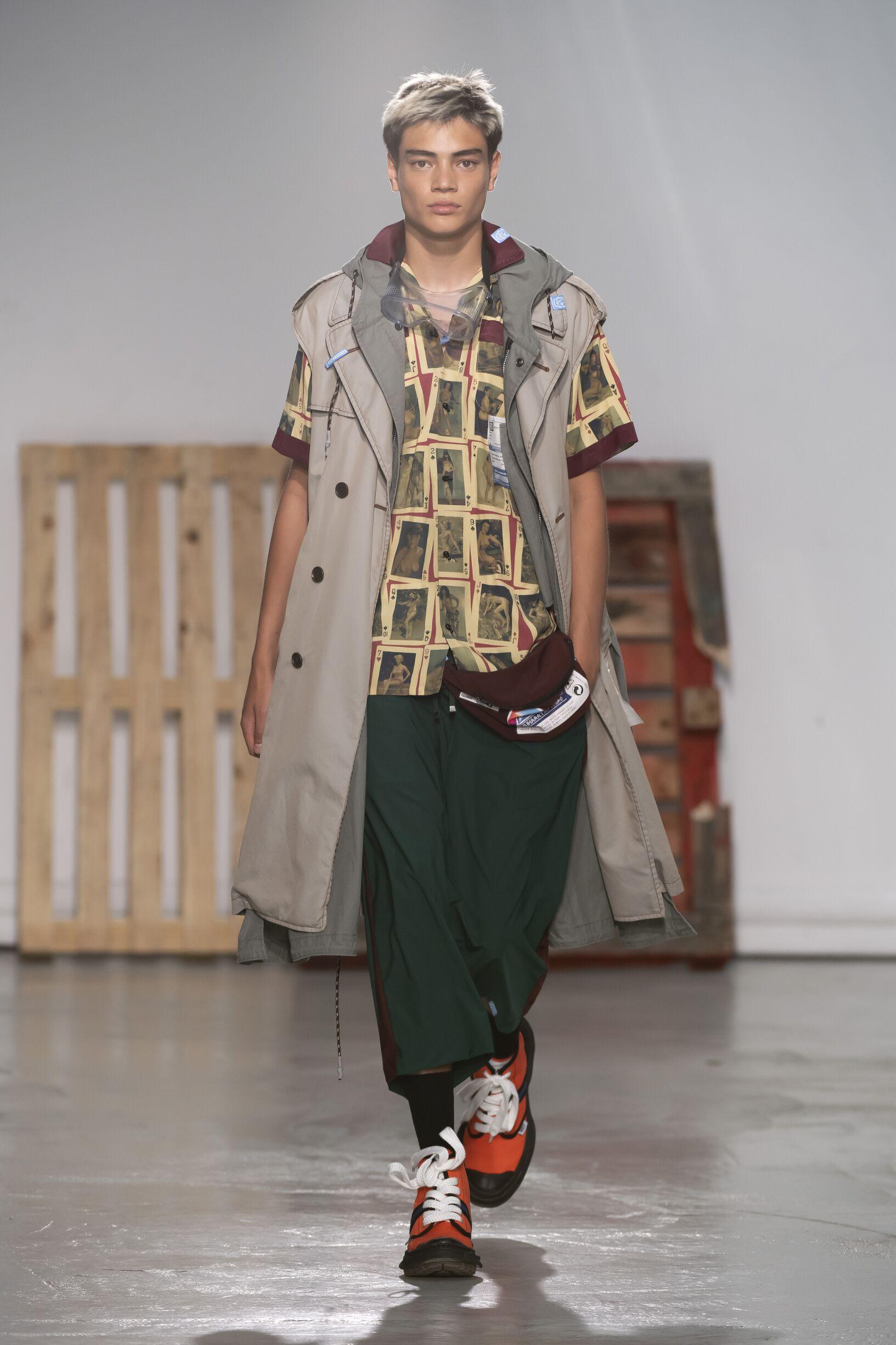 SS 2020 Maison Mihara Yasuhiro Fashion Show