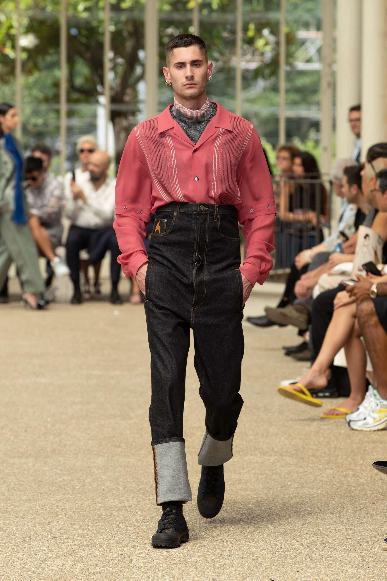 SS 2020 Marco De vincenzo Fashion Show Florence