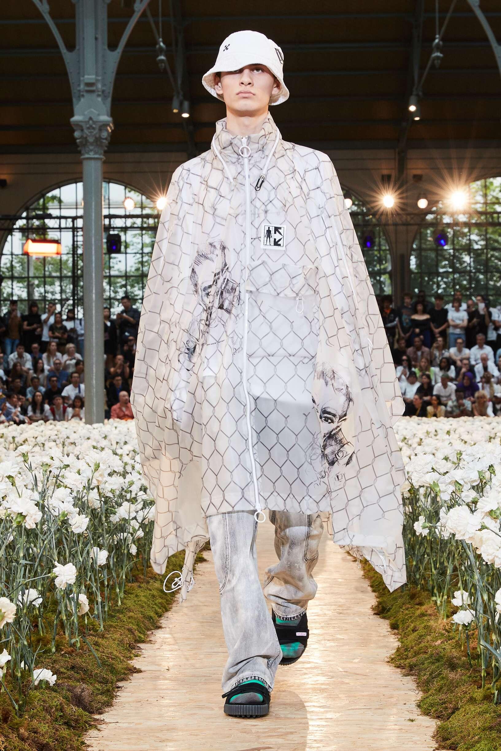 SS 2020 Off White c/o Virgil Abloh Fashion Show