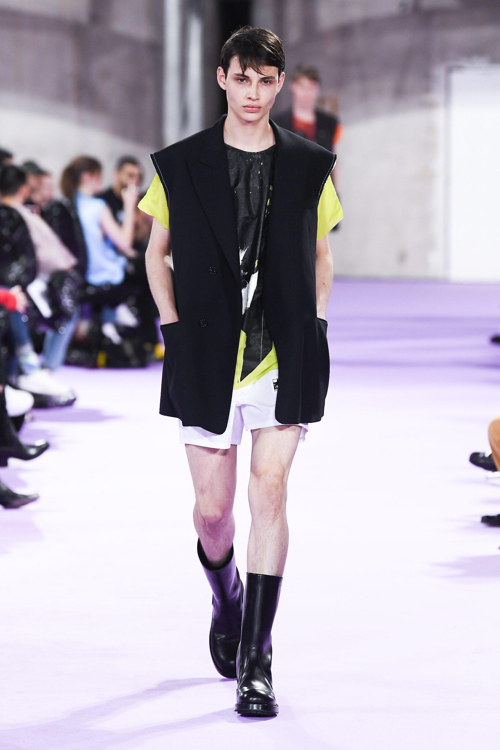 SS 2020 Raf Simons Fashion Show Paris
