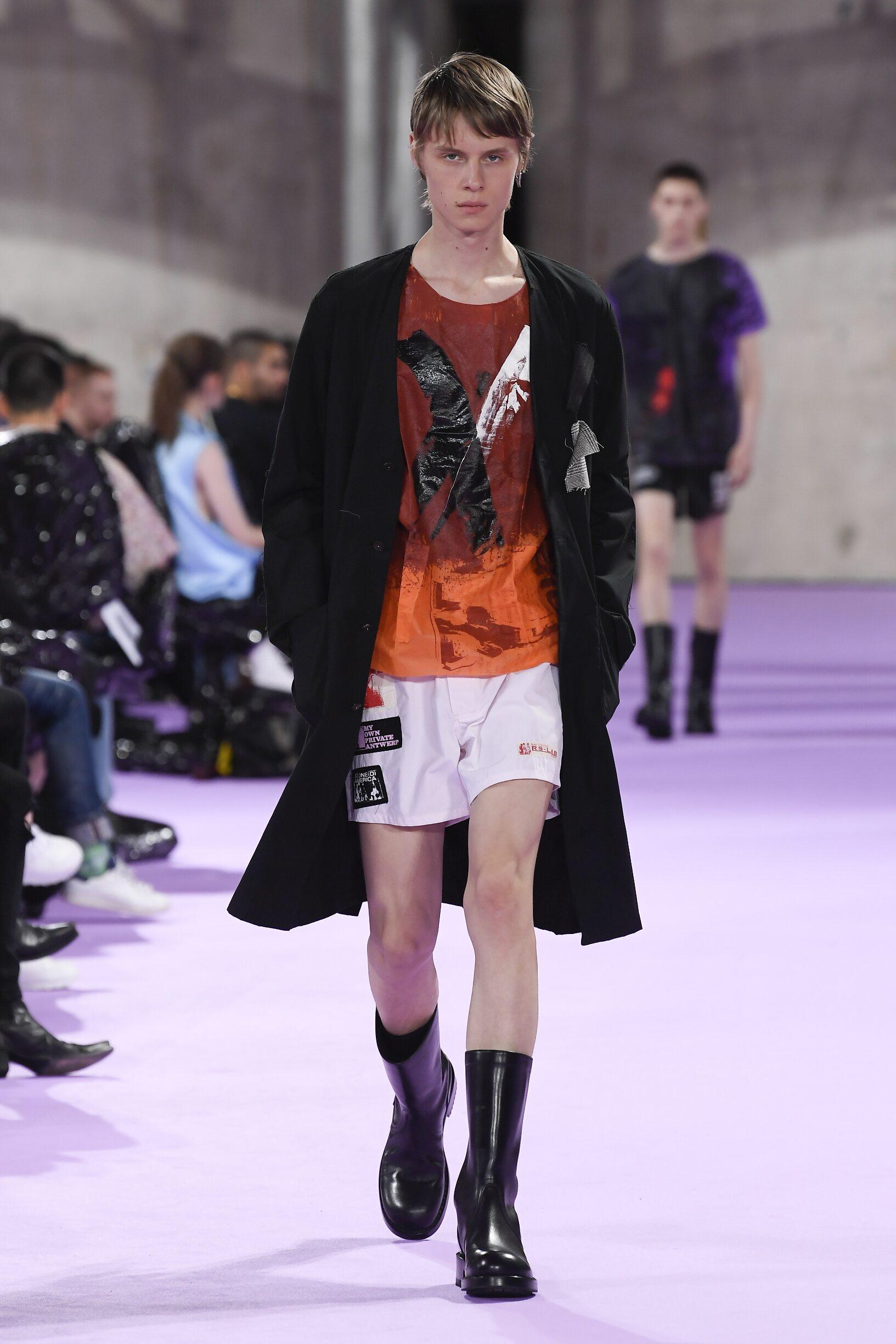 SS 2020 Raf Simons Fashion Show