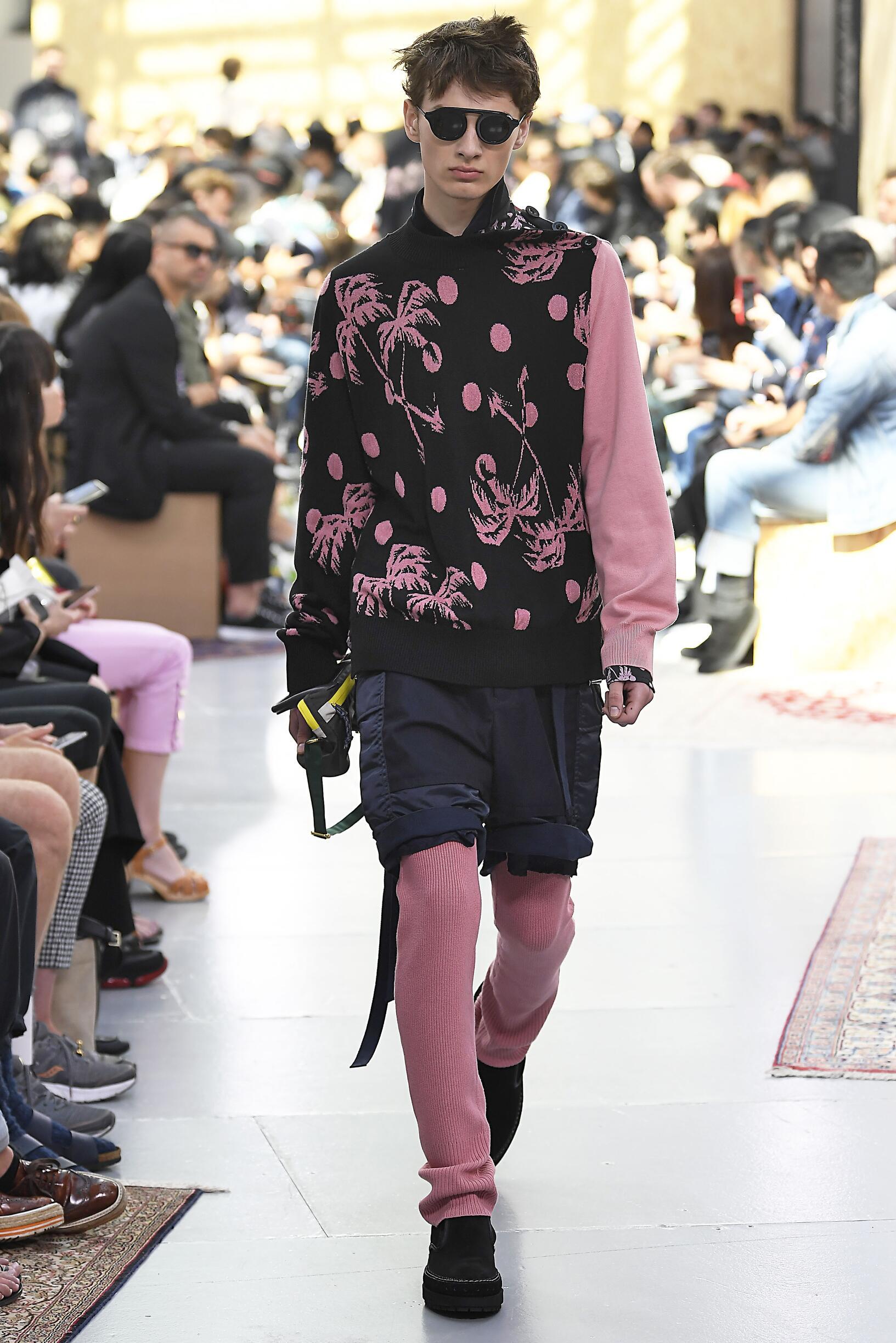 SS 2020 Sacai Fashion Show Paris Fashion Week