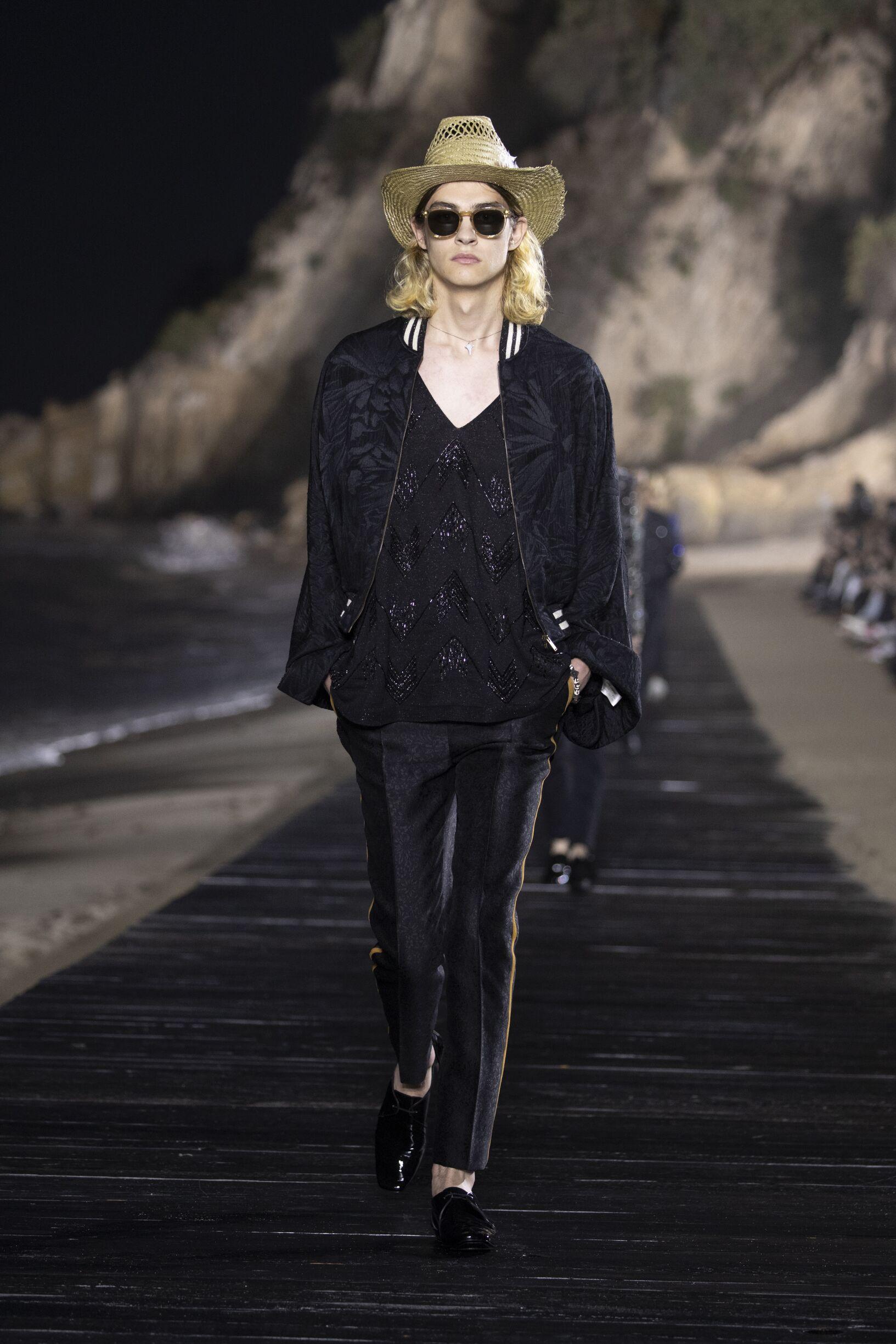 SS 2020 Saint Laurent Fashion Show Malibu
