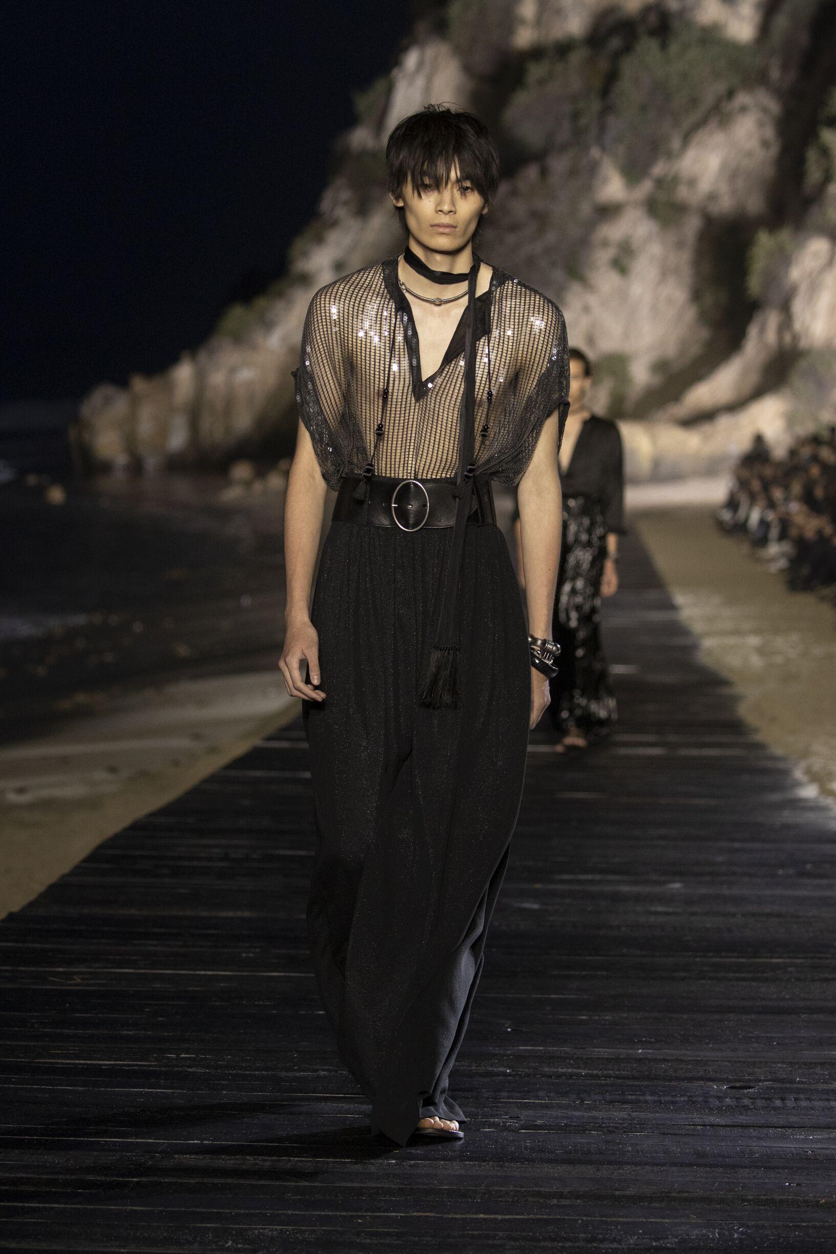 SS 2020 Saint Laurent Malibu Fashion Show Menswear