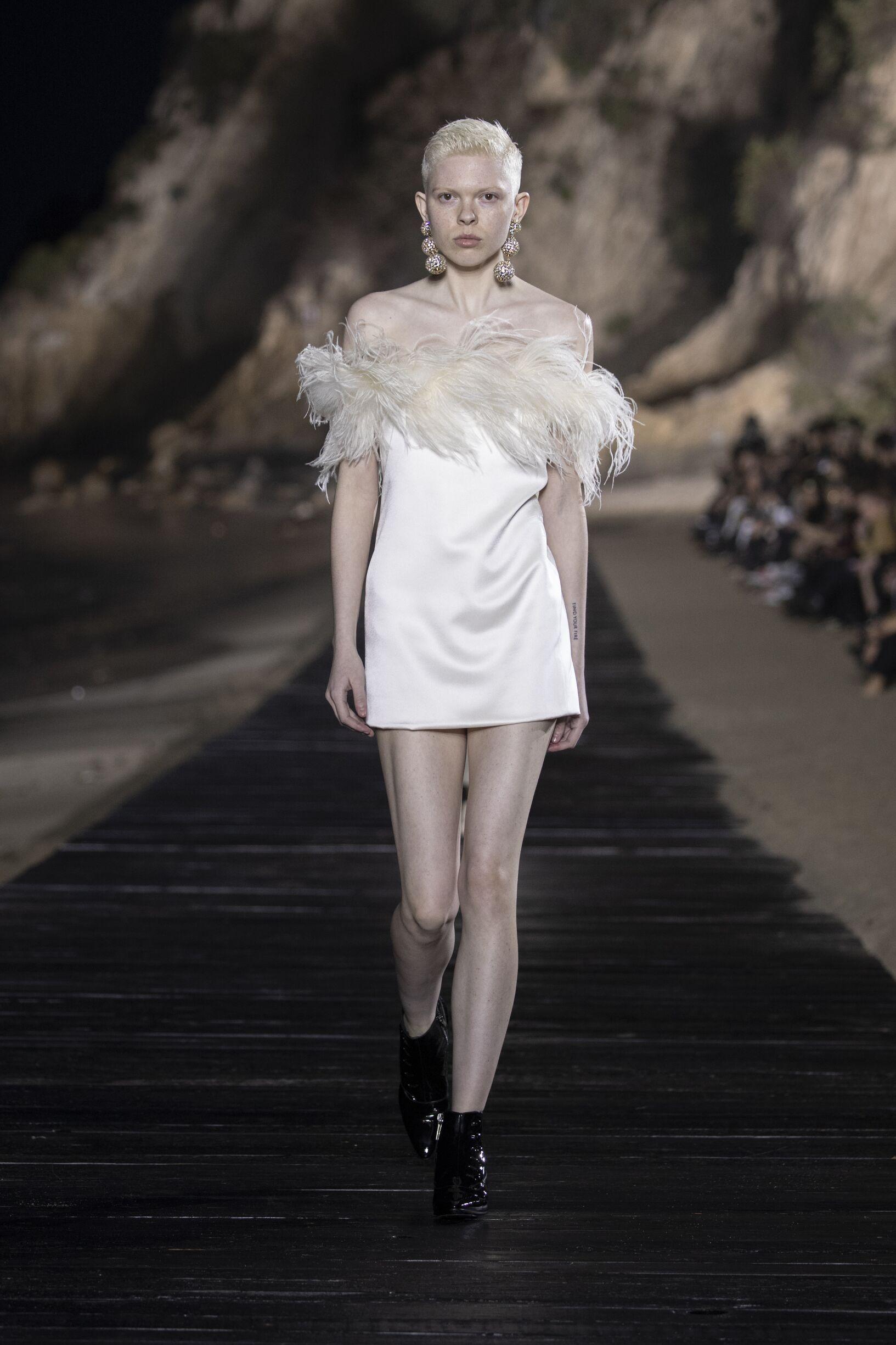 SS 2020 Saint Laurent Show Malibu Fashion