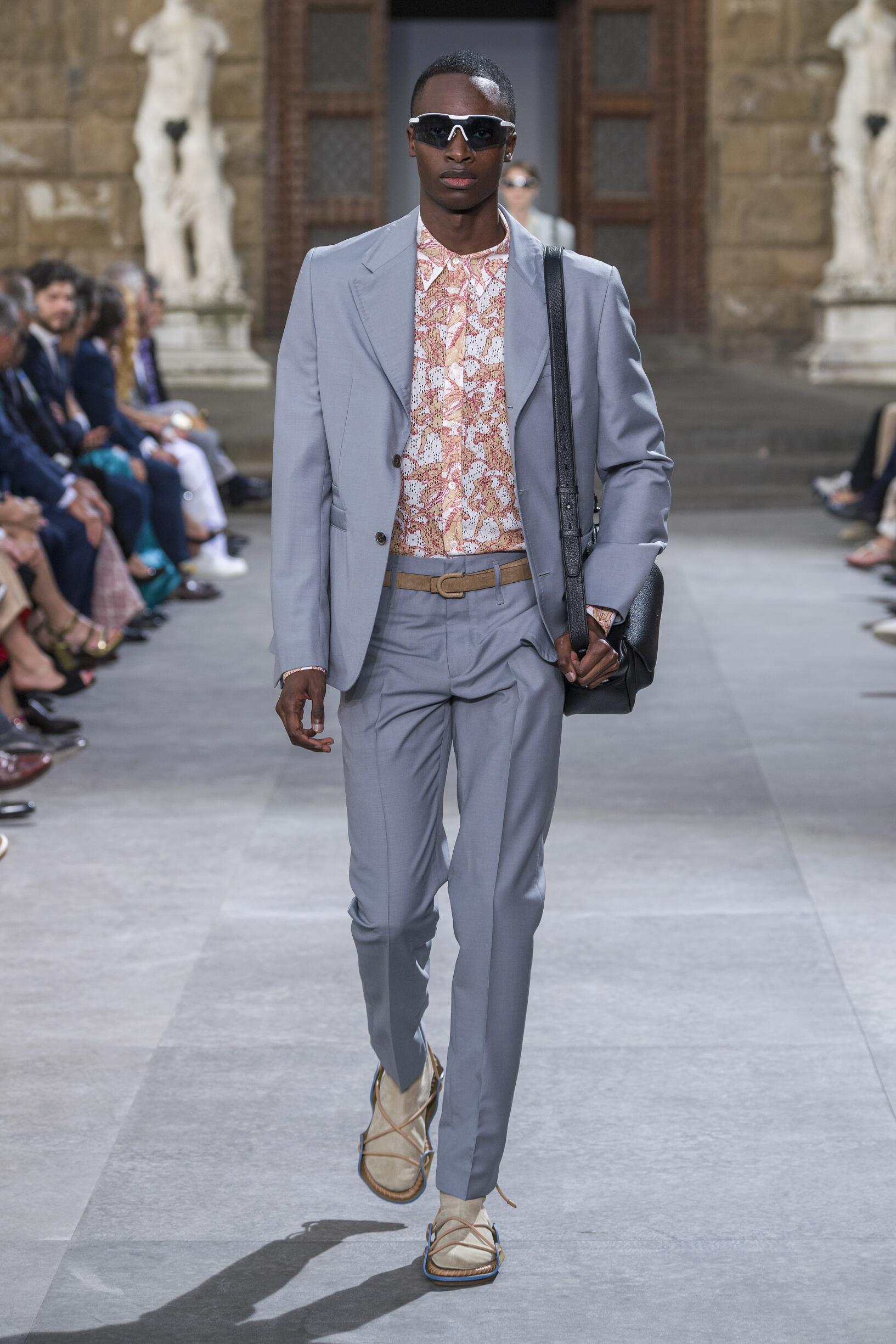 SS 2020 Salvatore Ferragamo Fashion Show Pitti Immagine