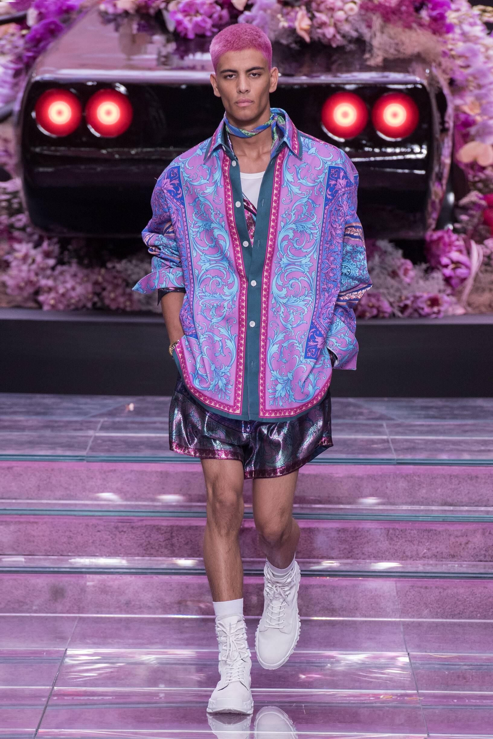 SS 2020 Versace Fashion Show Milan