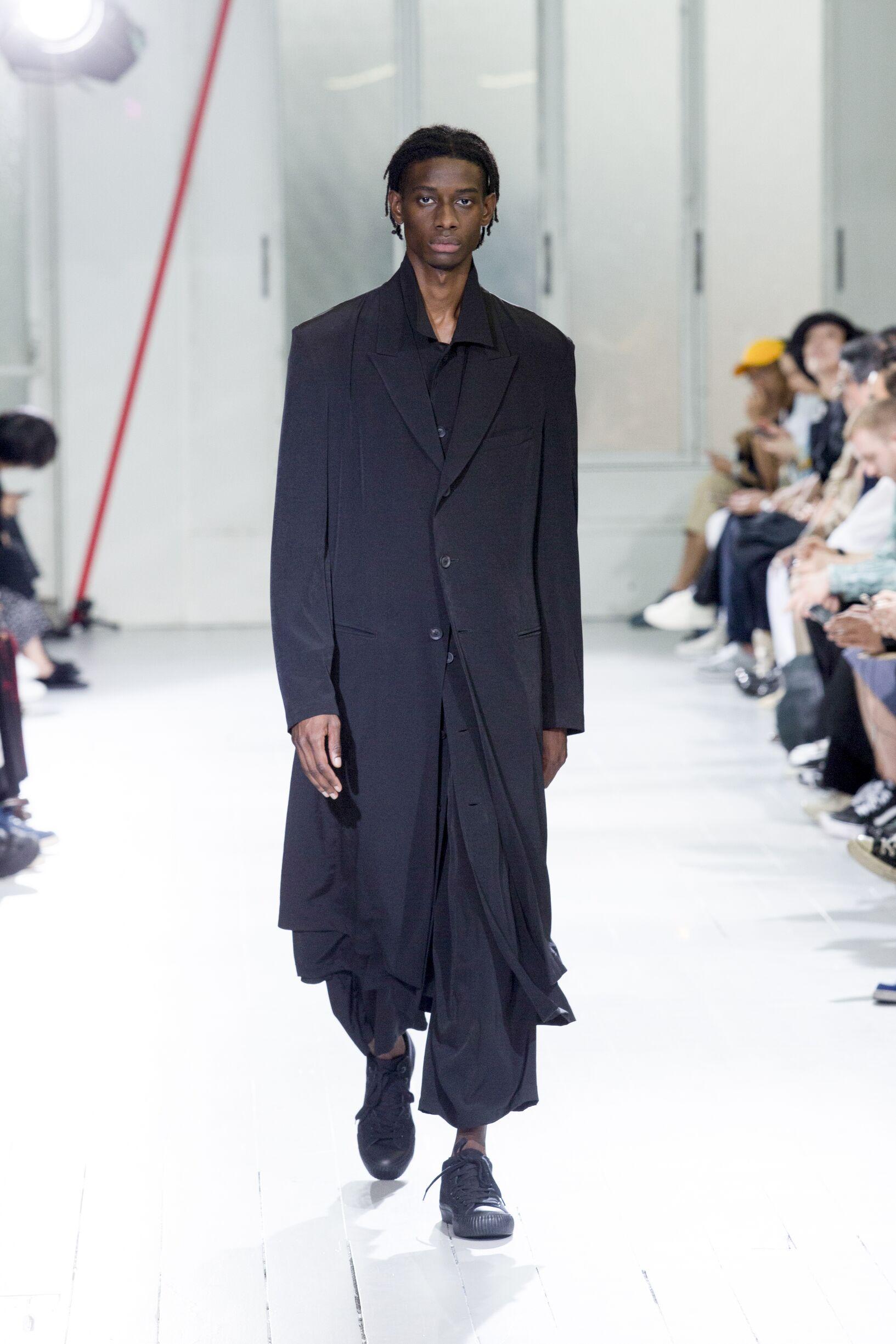 SS 2020 Yohji Yamamoto Fashion Show Paris