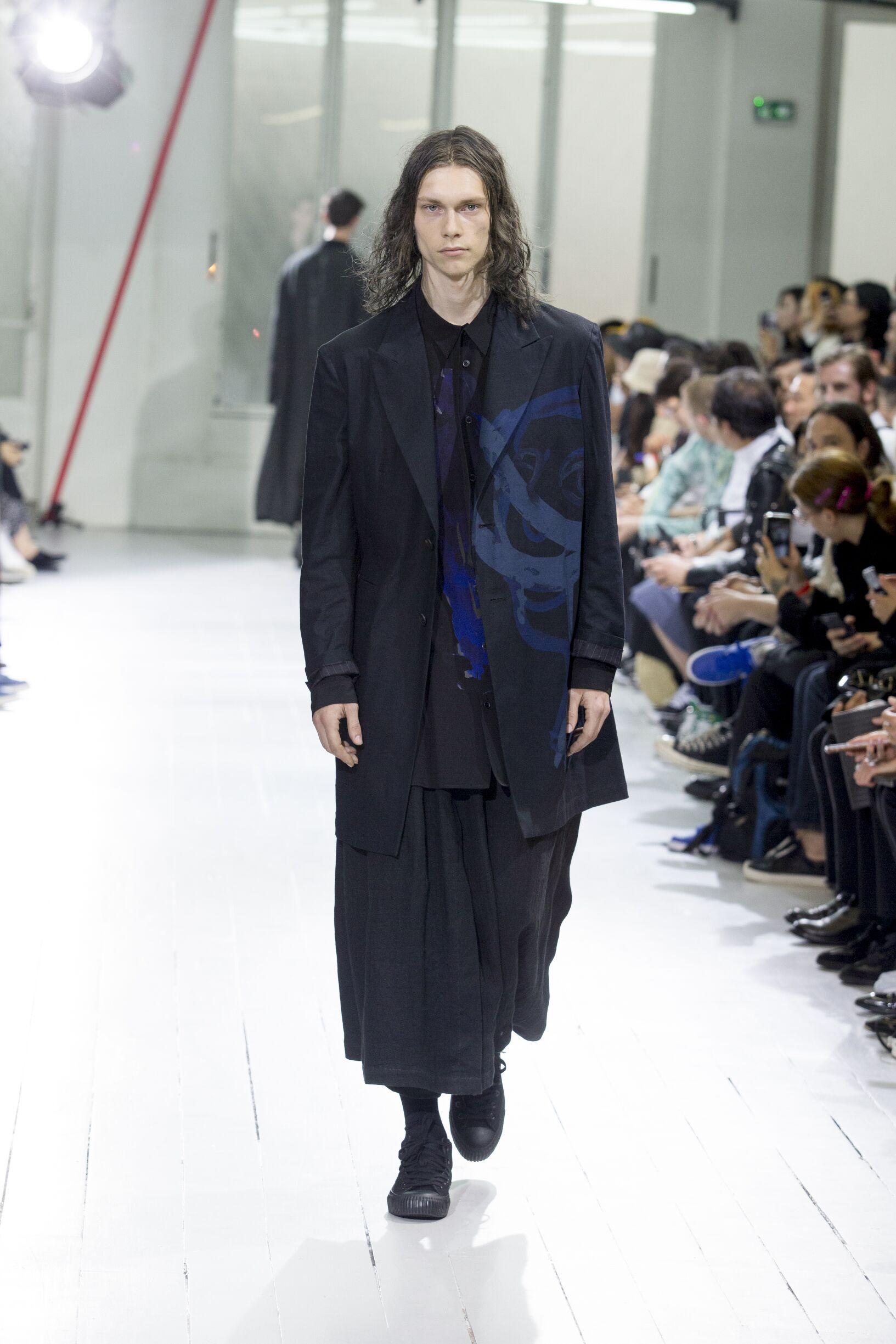 SS 2020 Yohji Yamamoto Fashion Show