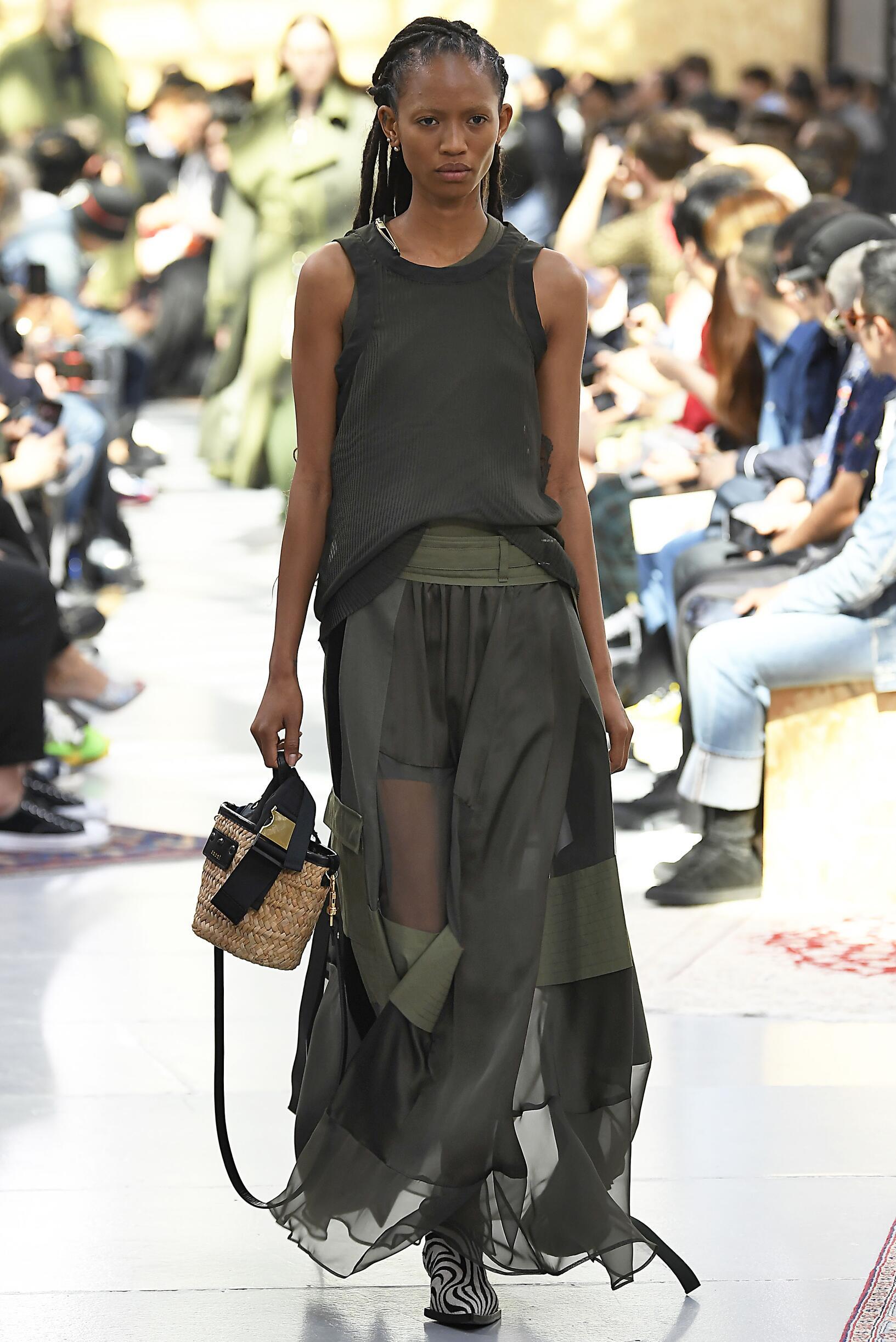 Sacai Pre Spring 2020 Womenswear