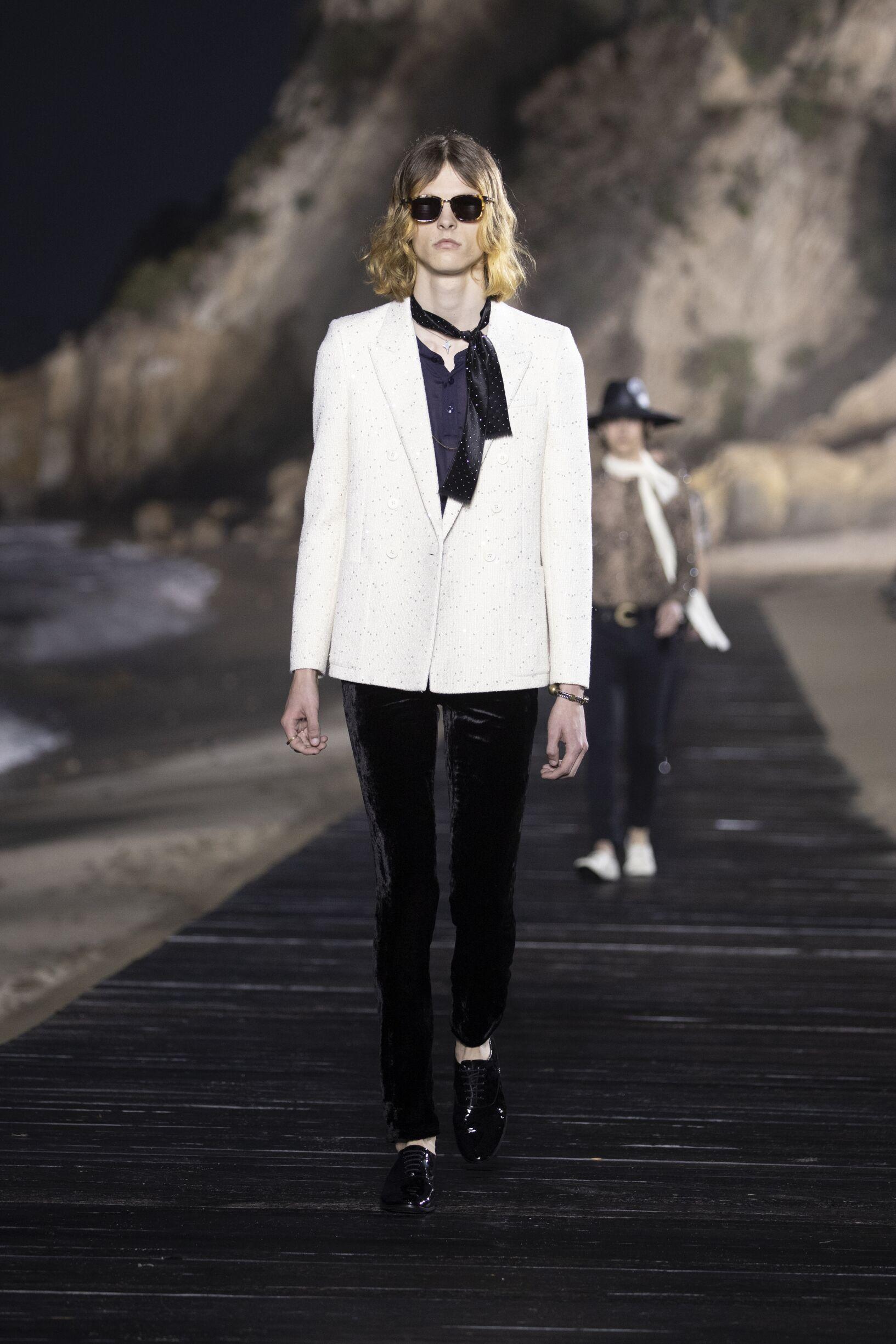 Saint Laurent Malibu Fashion Show Menswear