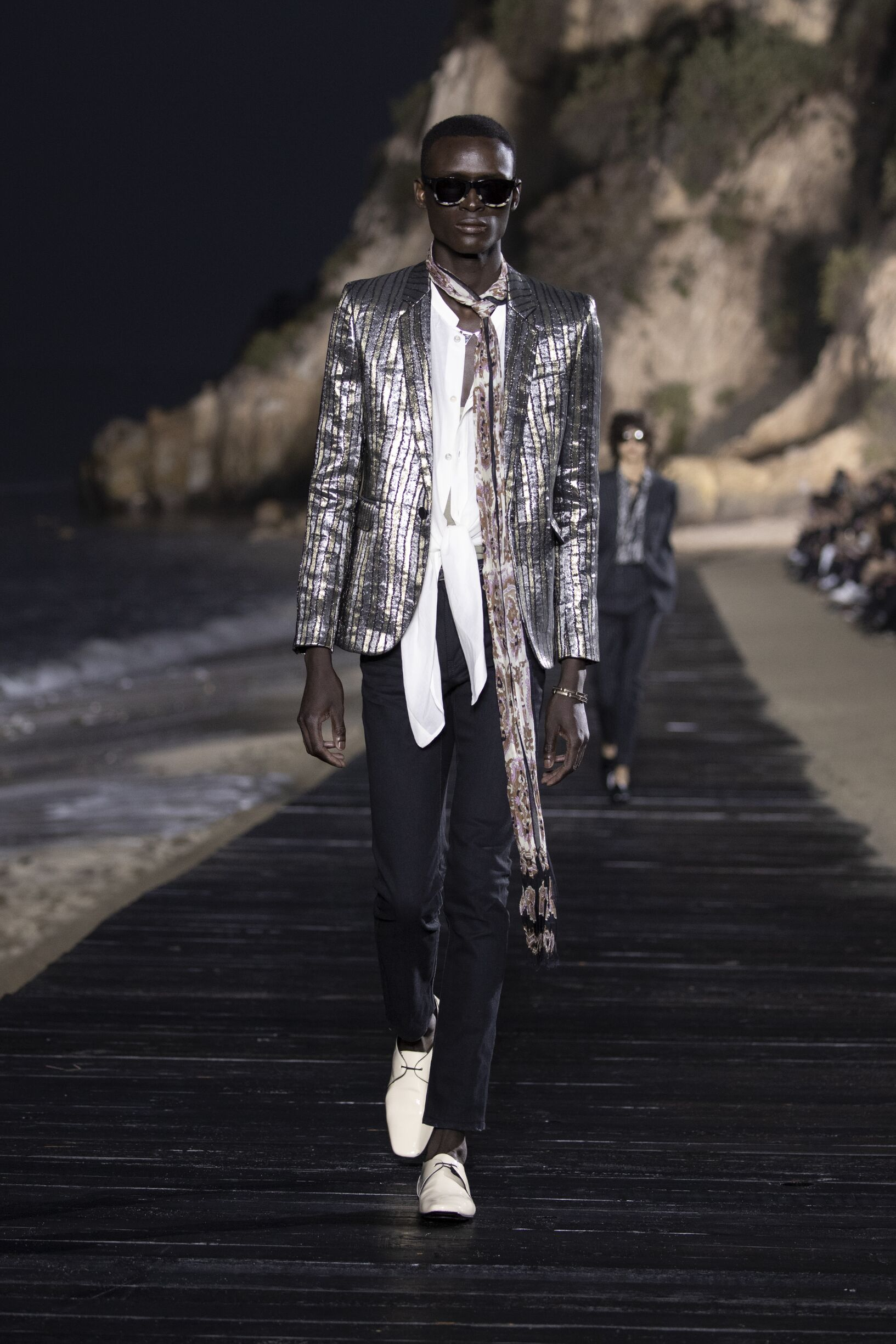 Saint Laurent Malibu Fashion Show
