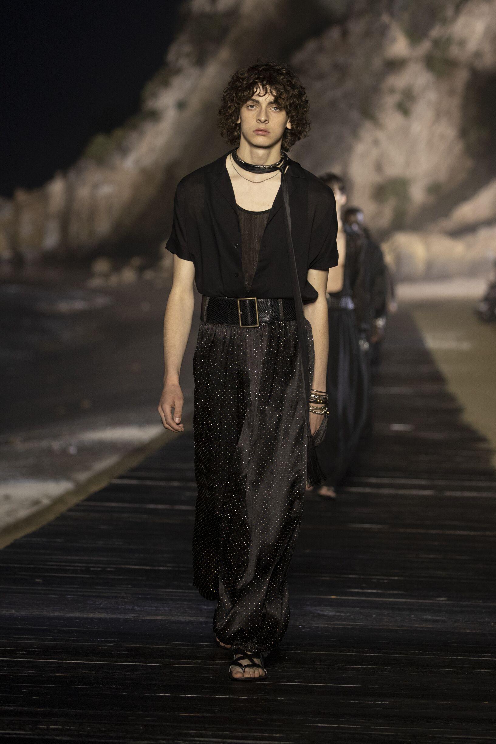 Saint Laurent Menswear Collection Style