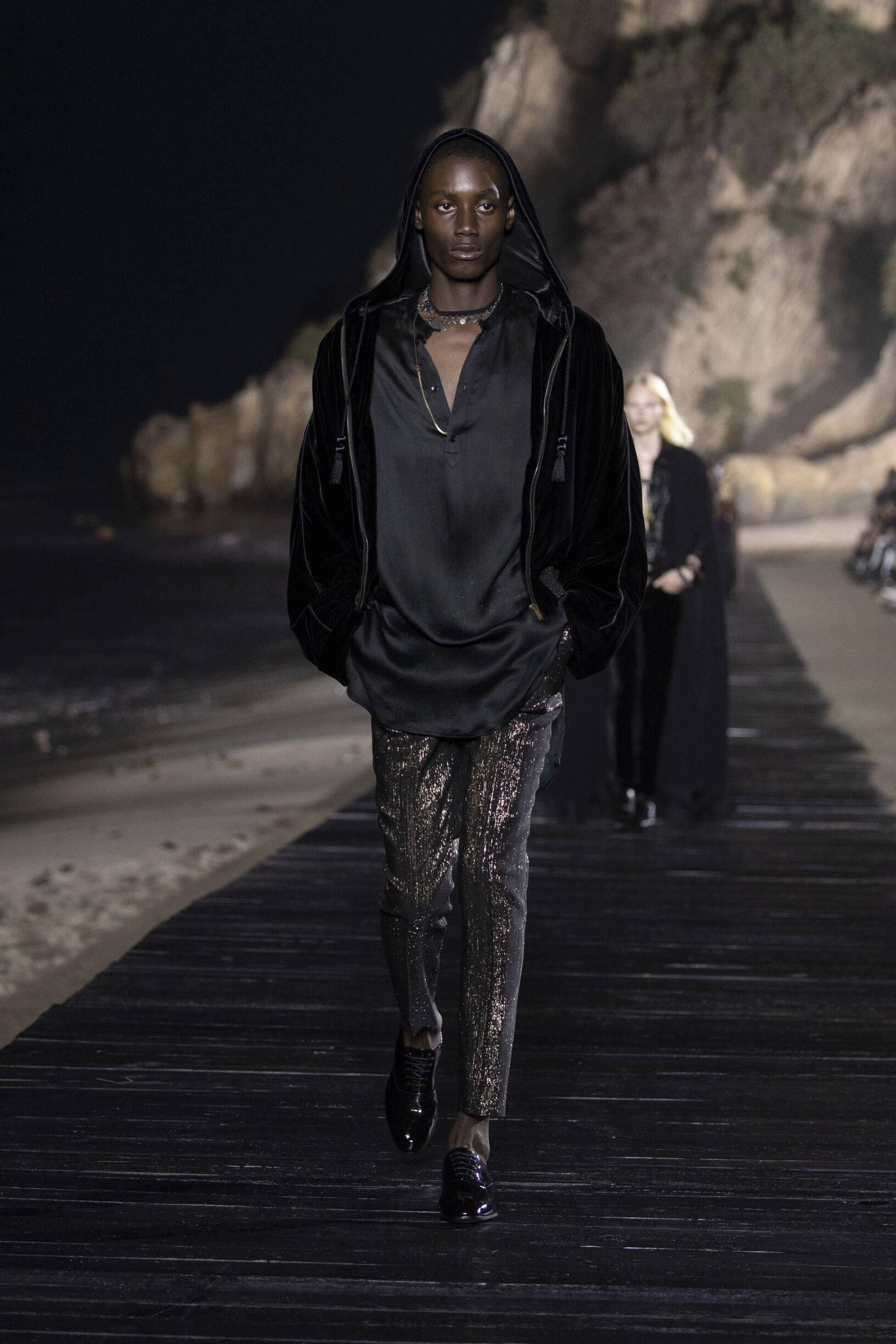 Saint Laurent Menswear Collection Trends