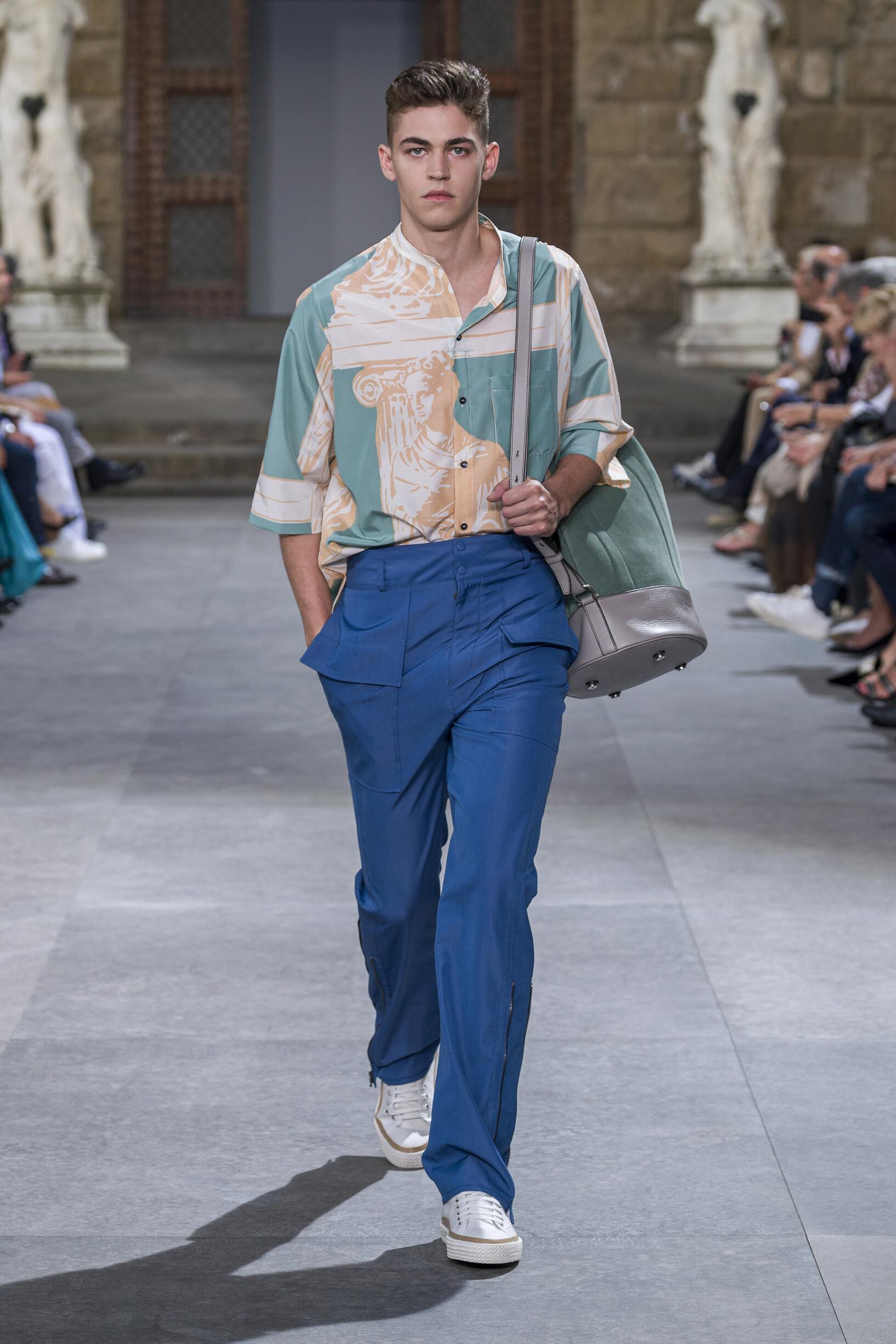 Salvatore Ferragamo Menswear Collection Trends