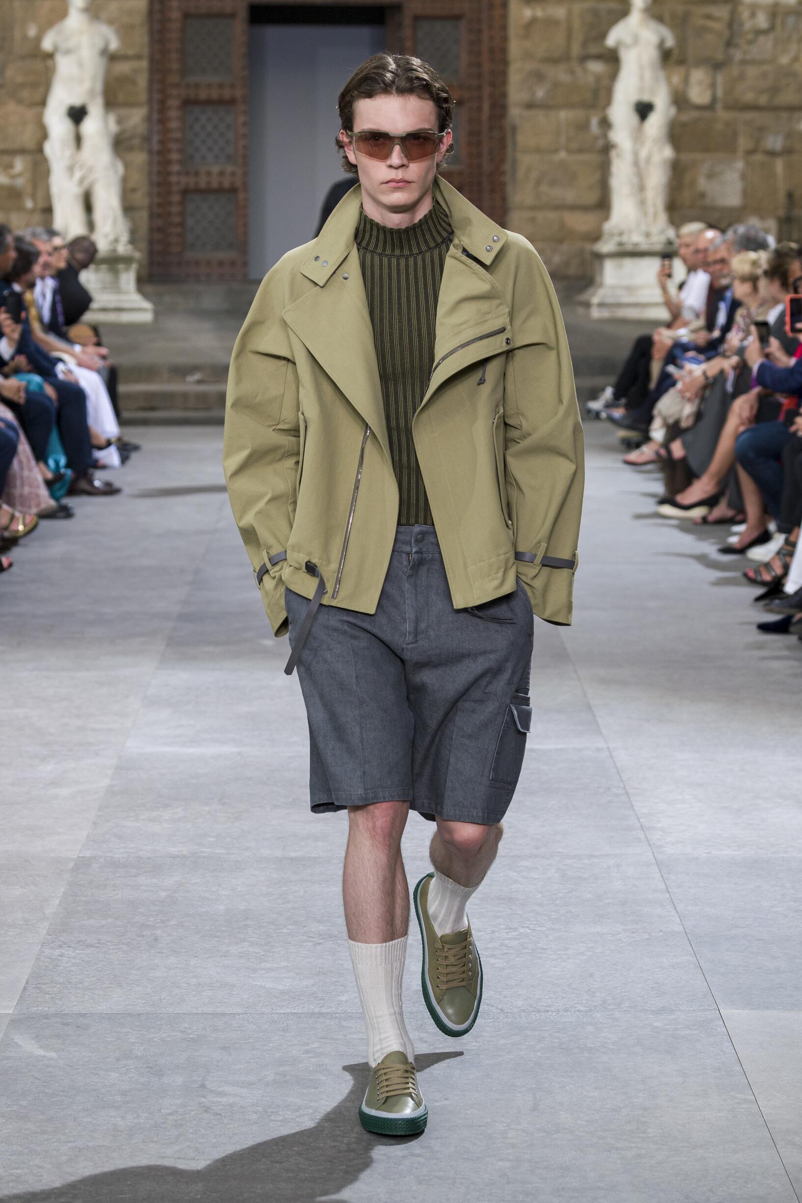 Salvatore Ferragamo Pitti Immagine Menswear