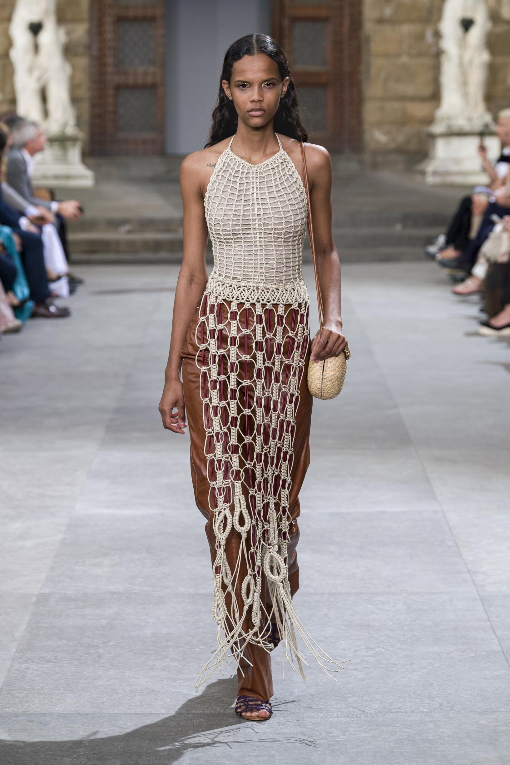 Salvatore Ferragamo Spring Summer 2020 Womens Collection Pitti Immagine