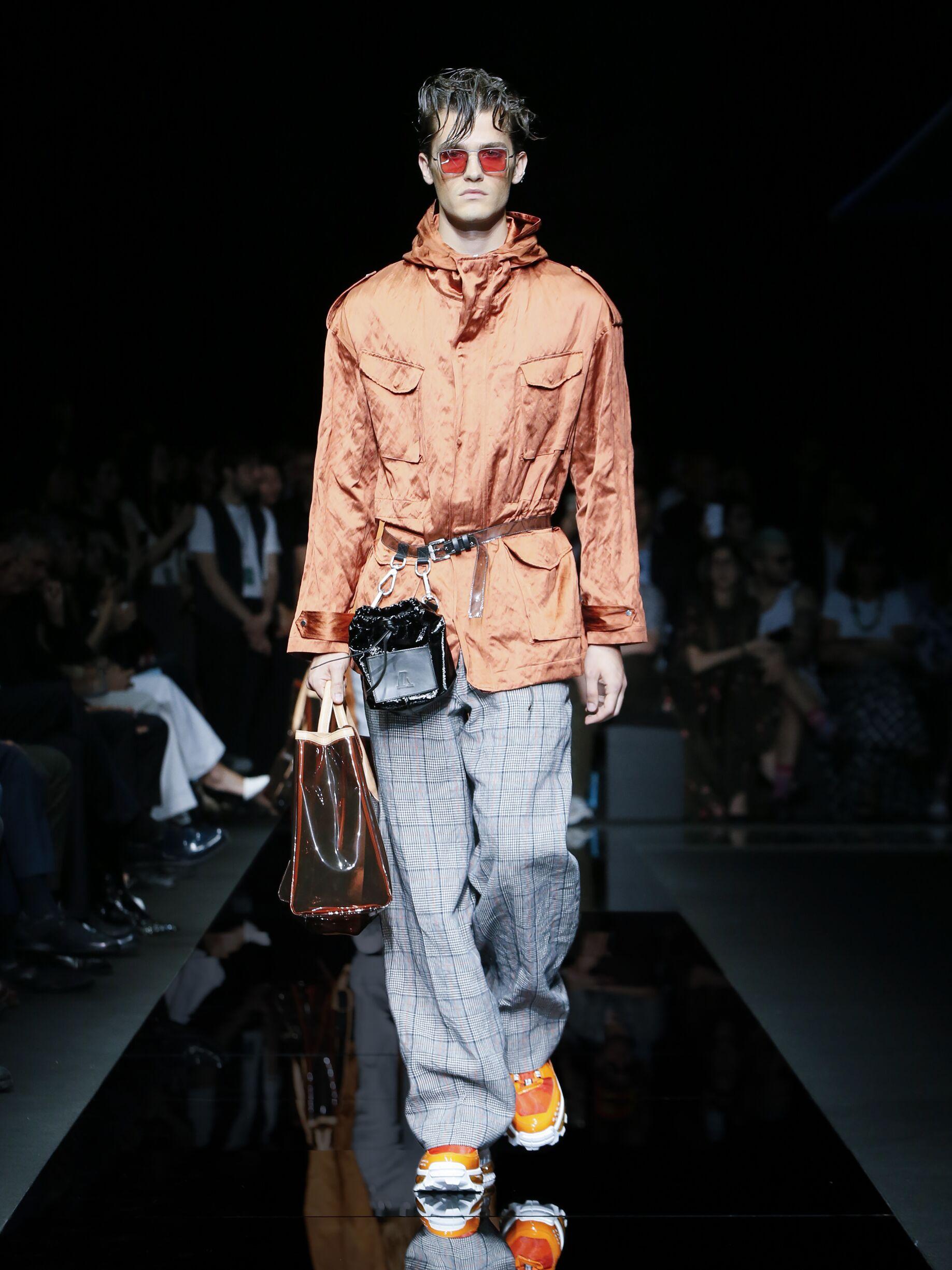 Spring 2020 Menswear Emporio Armani