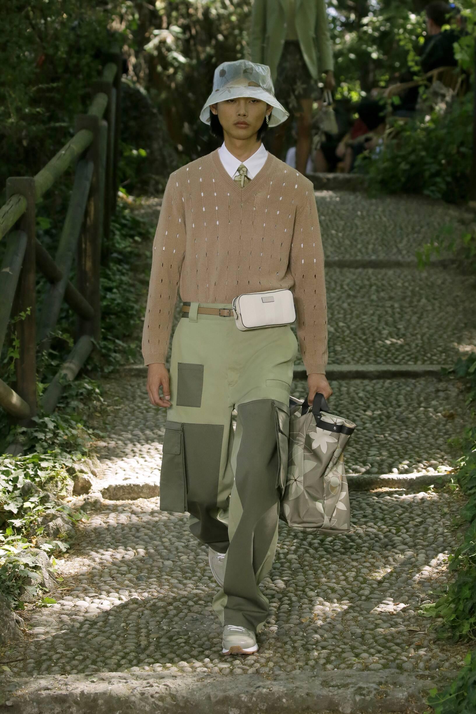 Spring 2020 Menswear Fendi