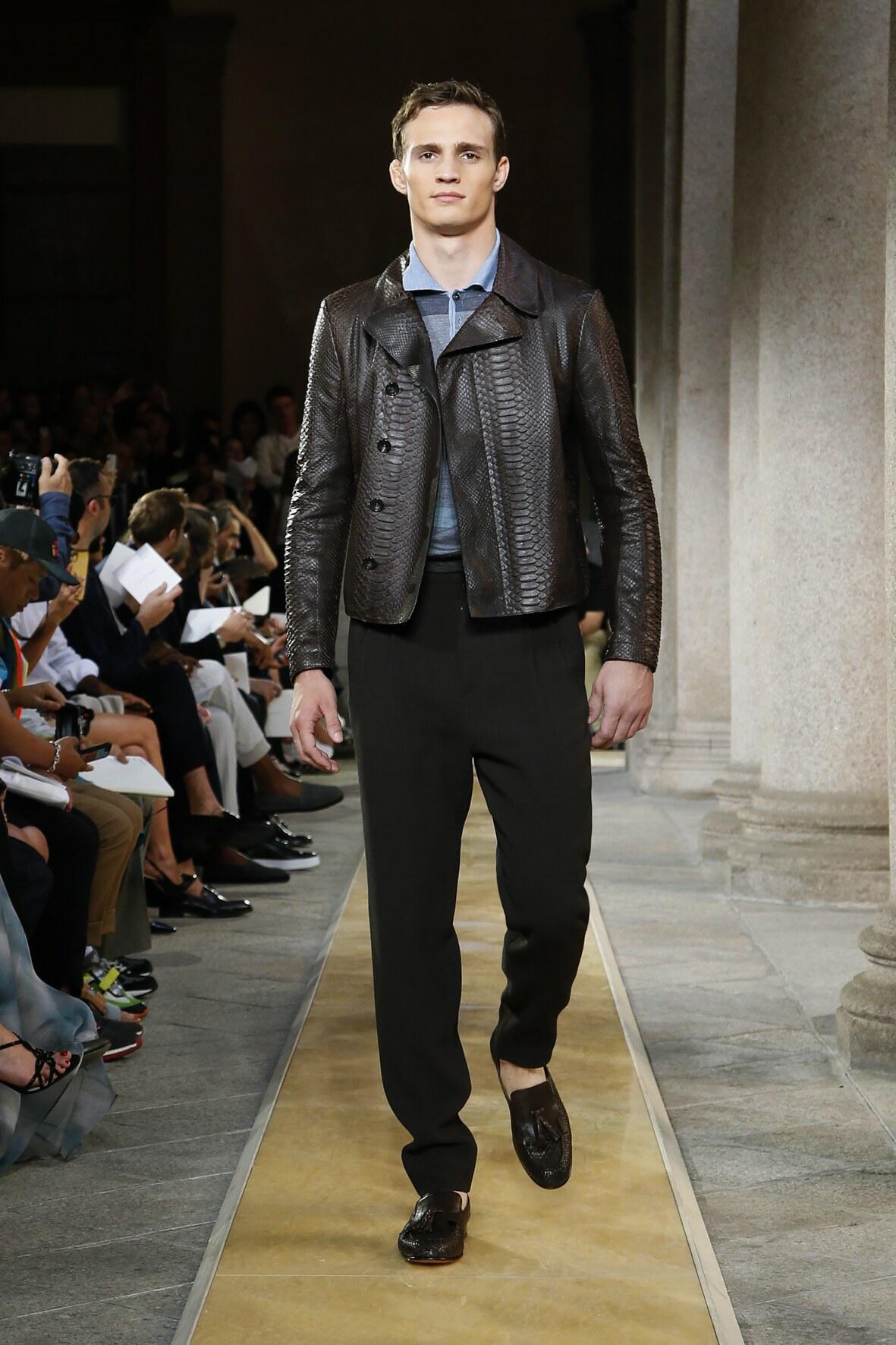 Spring 2020 Menswear Giorgio Armani
