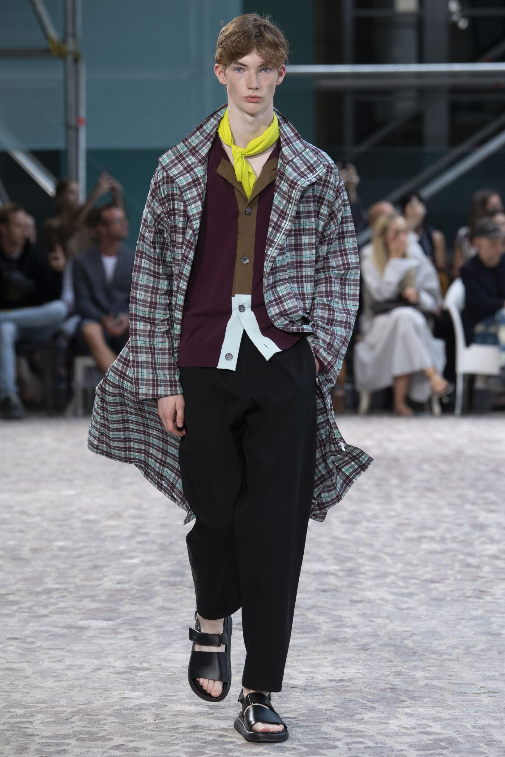 Spring 2020 Menswear Hermès