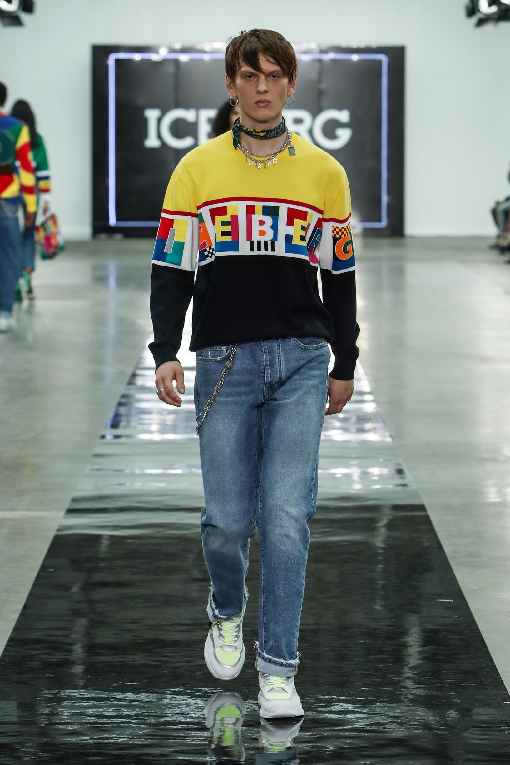 Spring 2020 Menswear Iceberg