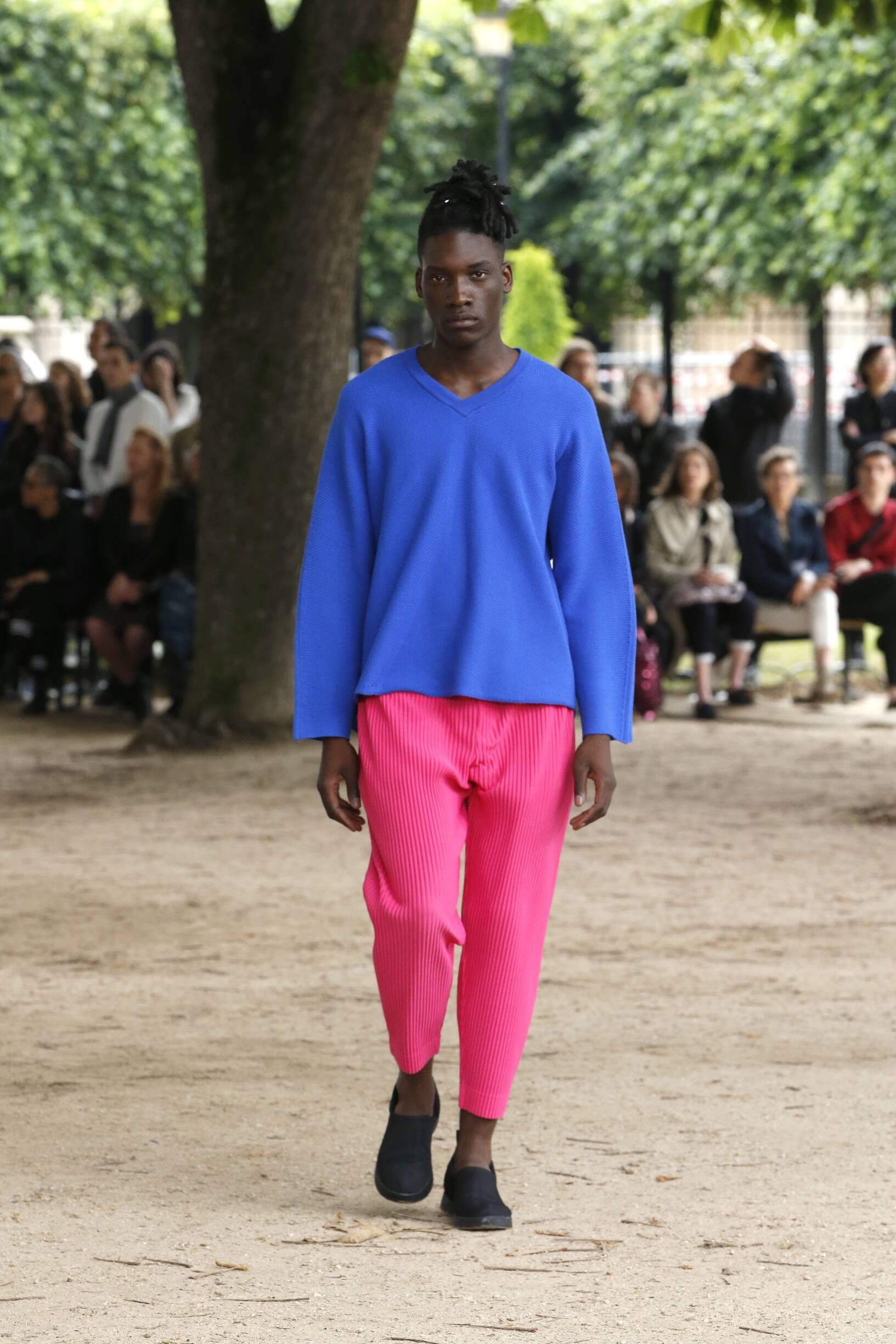 Spring 2020 Menswear Issey Miyake
