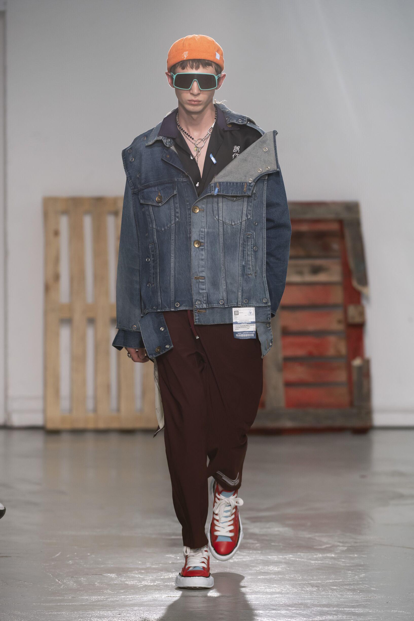Spring 2020 Menswear Maison Mihara Yasuhiro