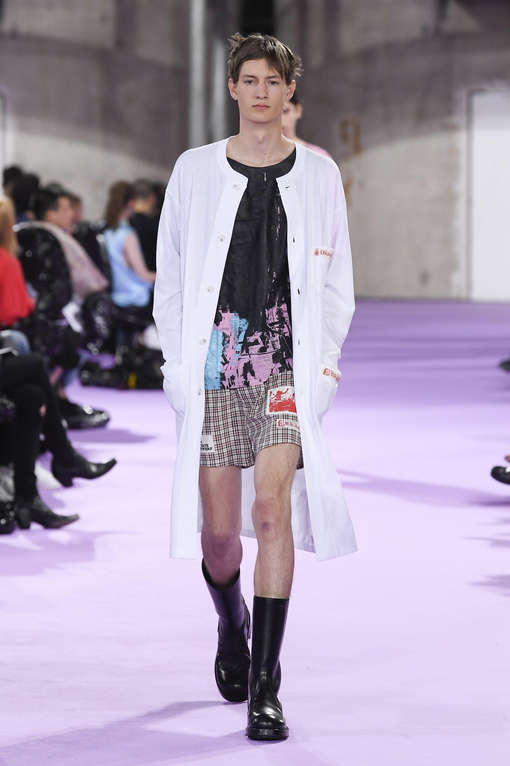 Spring 2020 Menswear Raf Simons