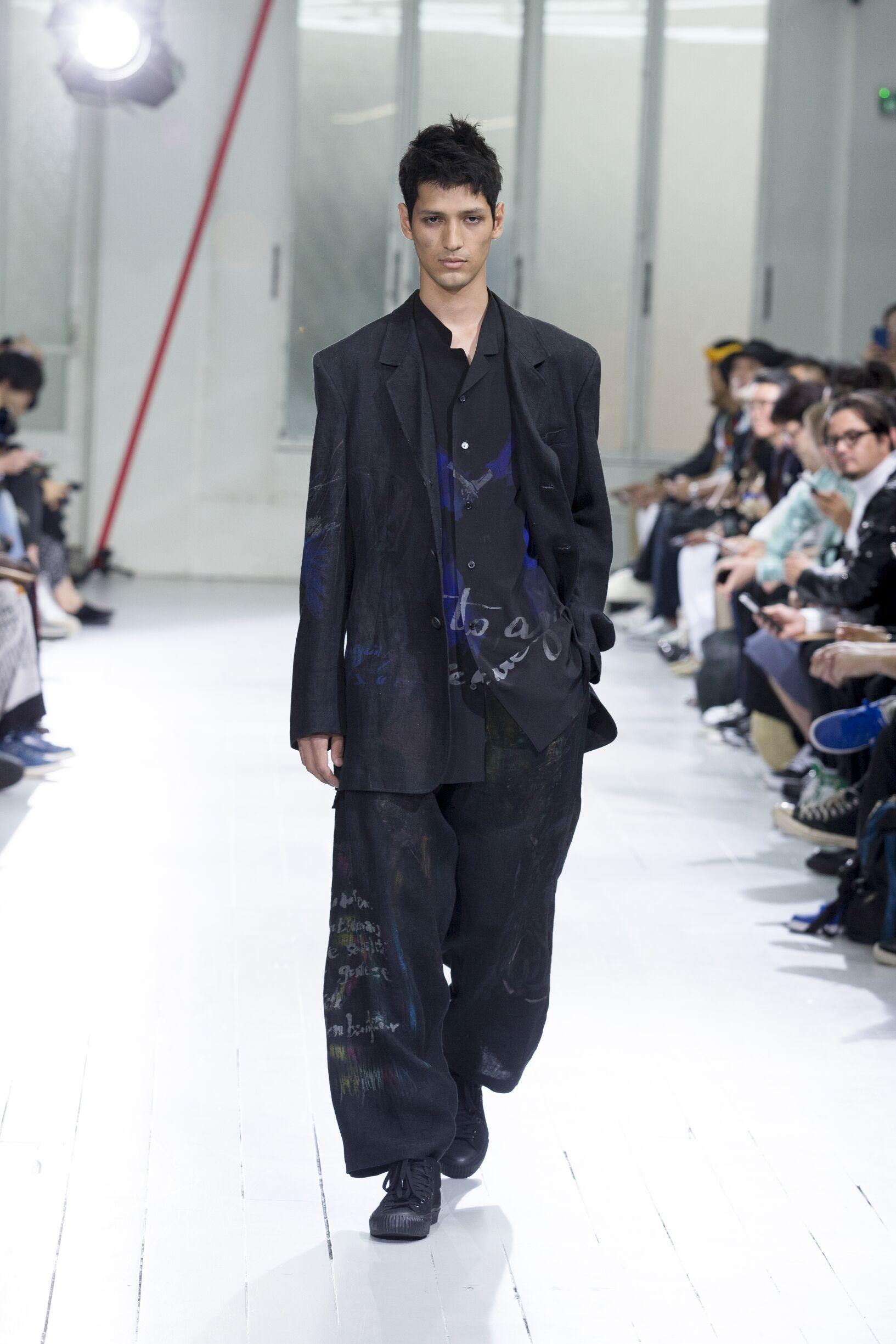 Spring 2020 Menswear Yohji Yamamoto