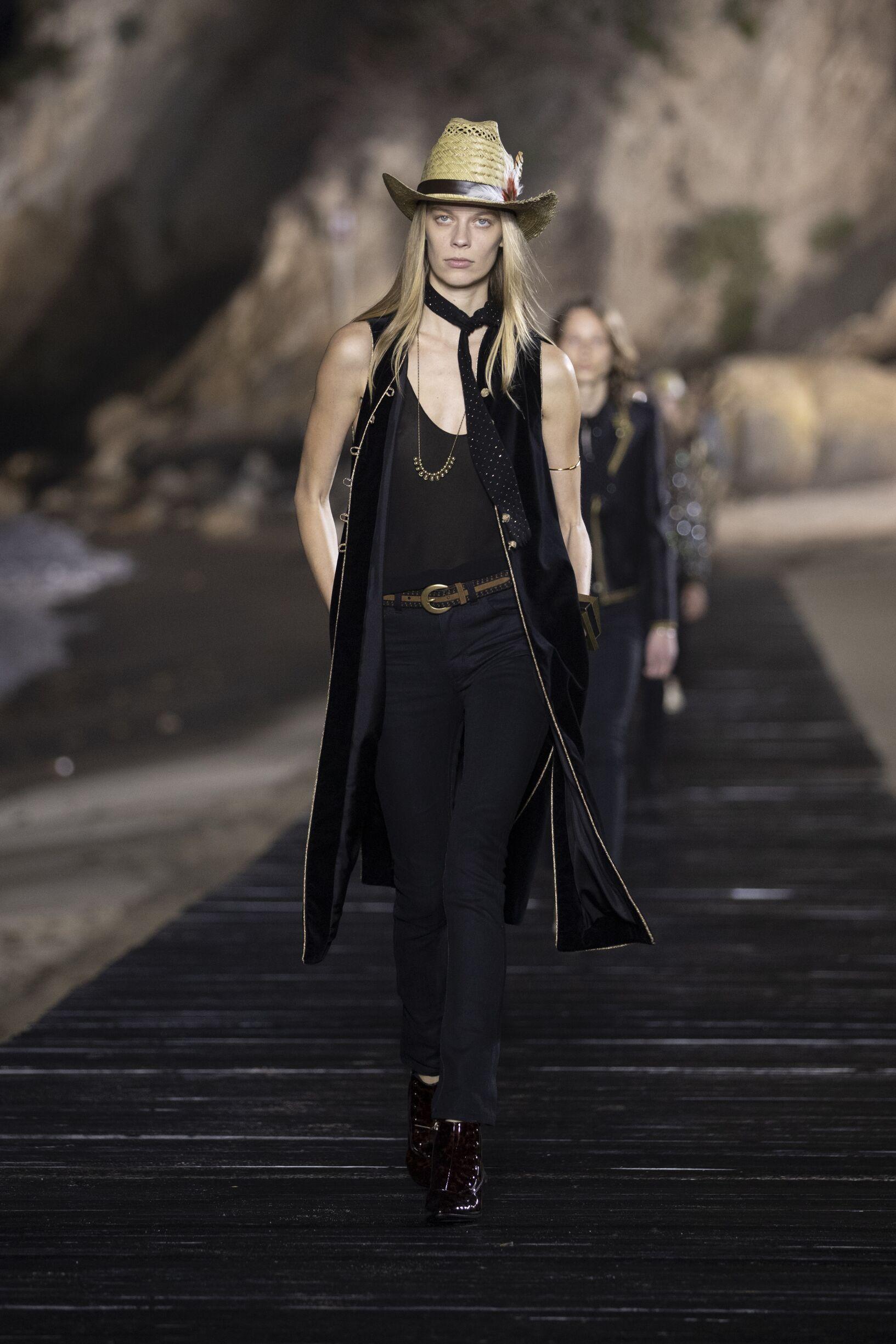 Spring 2020 Saint Laurent Fashion Show Malibu