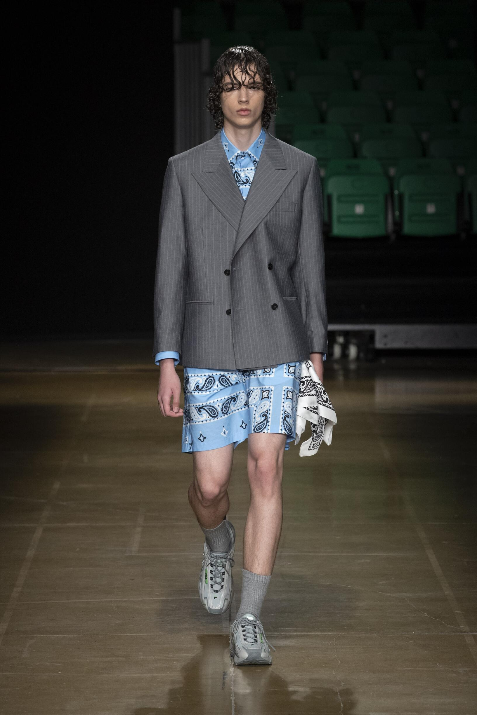 Spring Summer 2020 Man Florence MSGM Collection