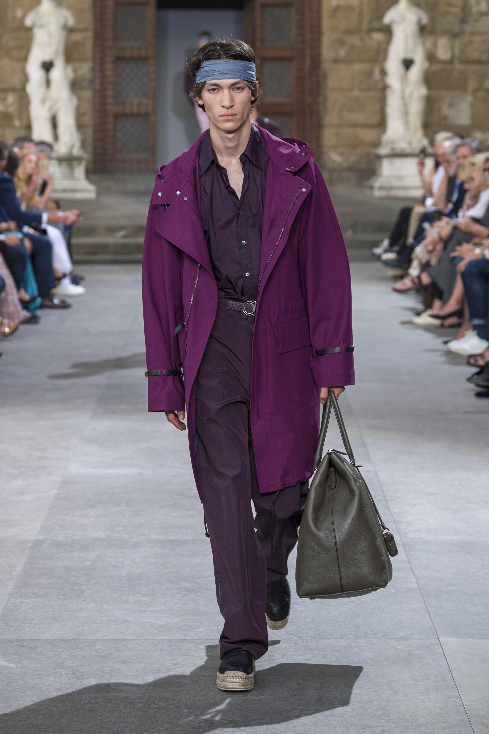 Spring Summer 2020 Man Florence Salvatore Ferragamo Collection