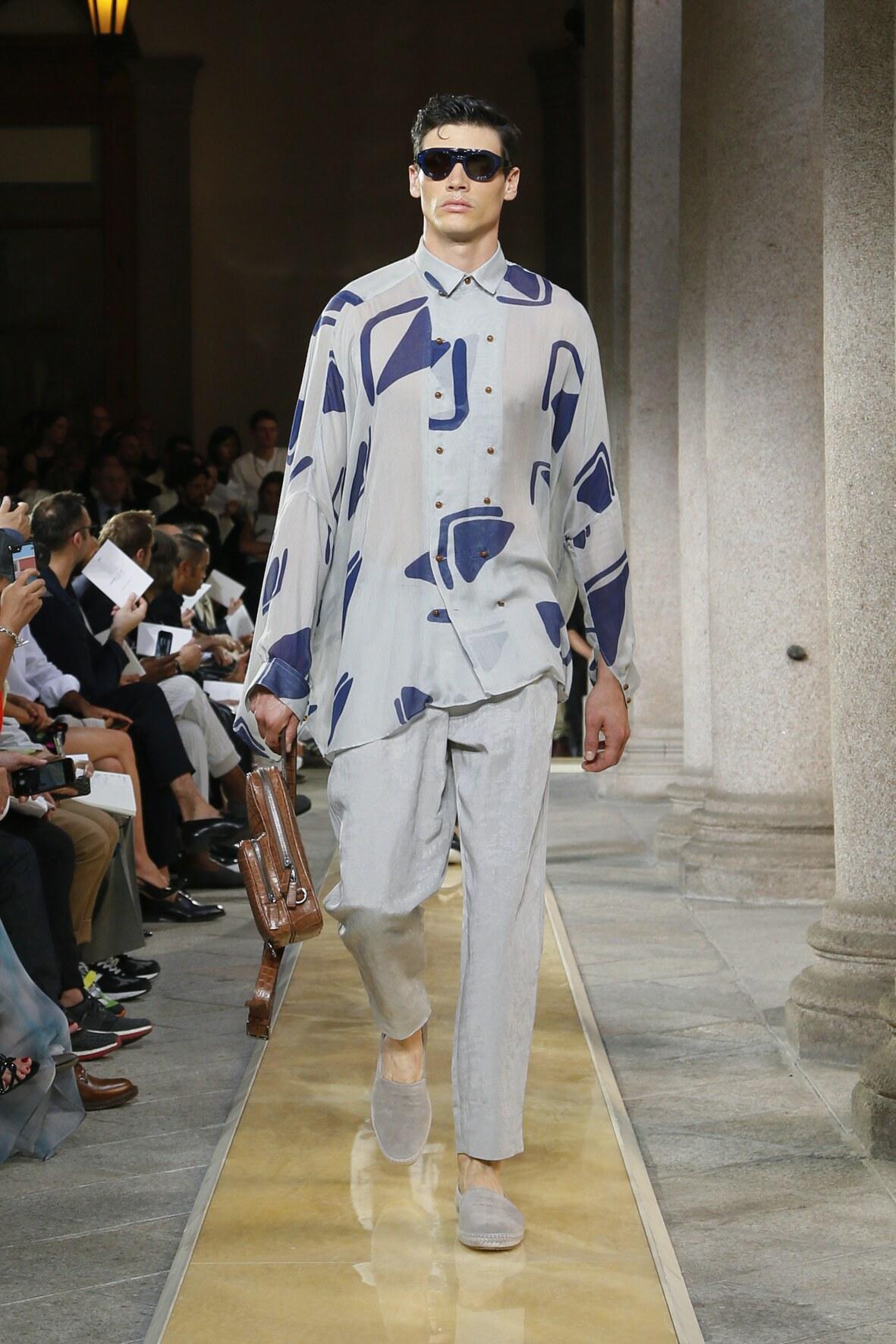 Spring Summer 2020 Man Milan Giorgio Armani Collection