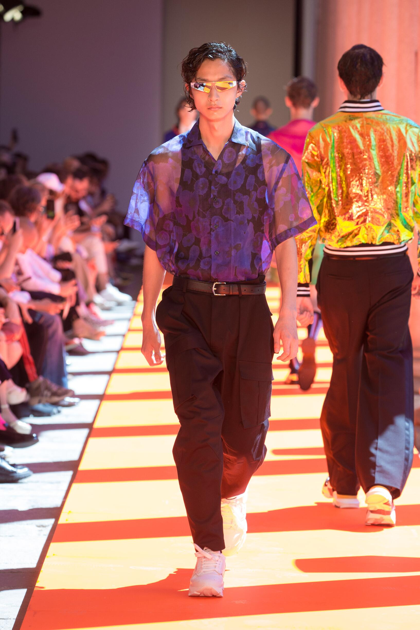 Spring Summer 2020 Man Milan Les Hommes Collection
