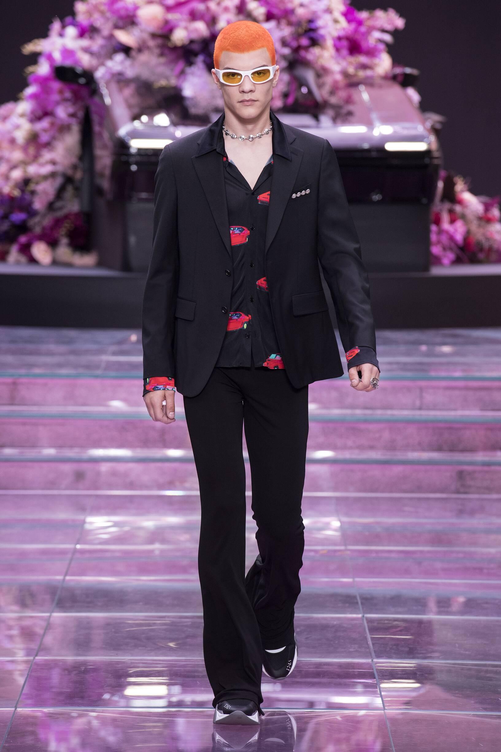 Spring Summer 2020 Man Milan Versace Collection