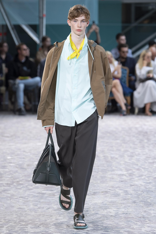 Spring Summer 2020 Man Paris Hermès Collection