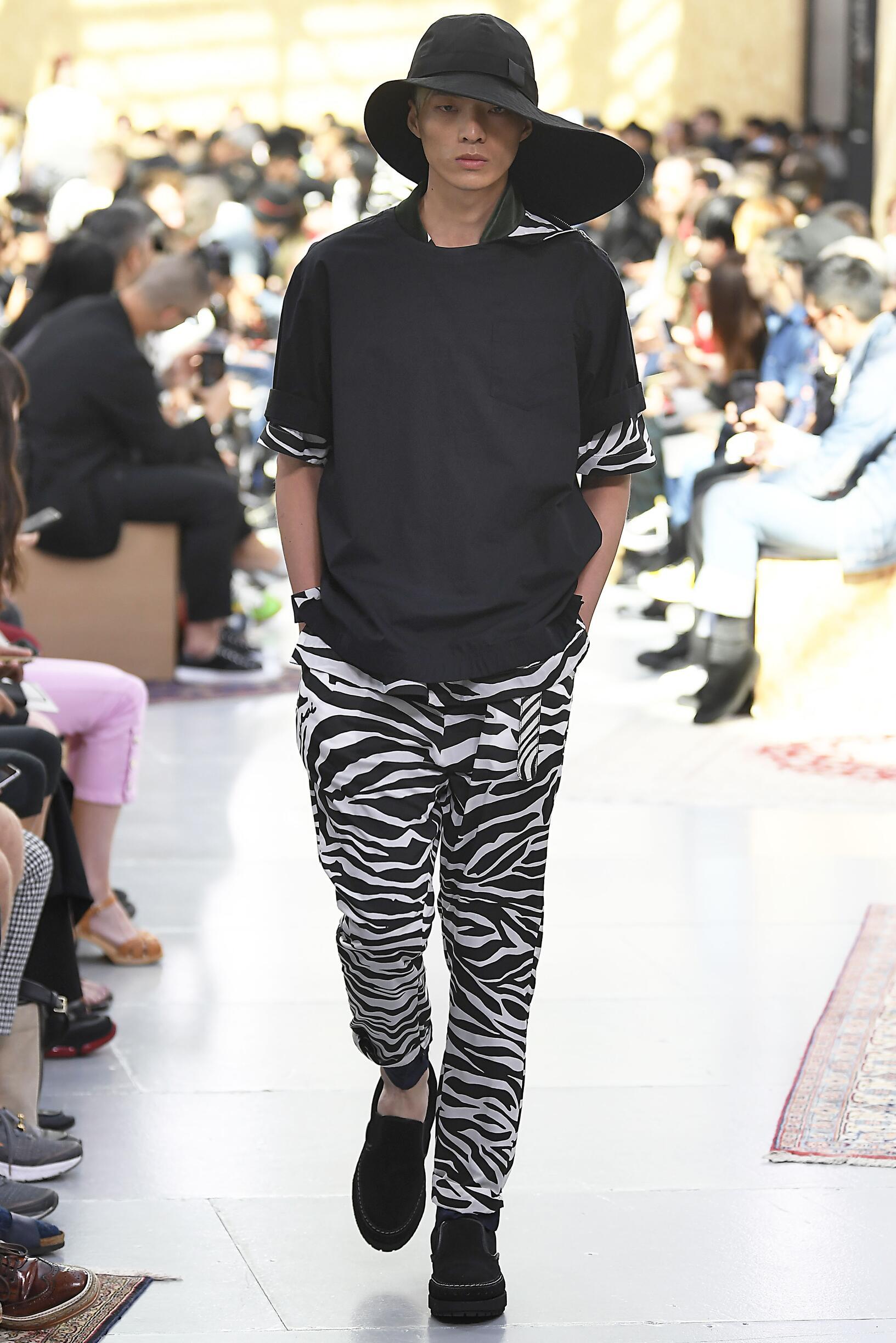 Spring Summer 2020 Man Paris Sacai Collection
