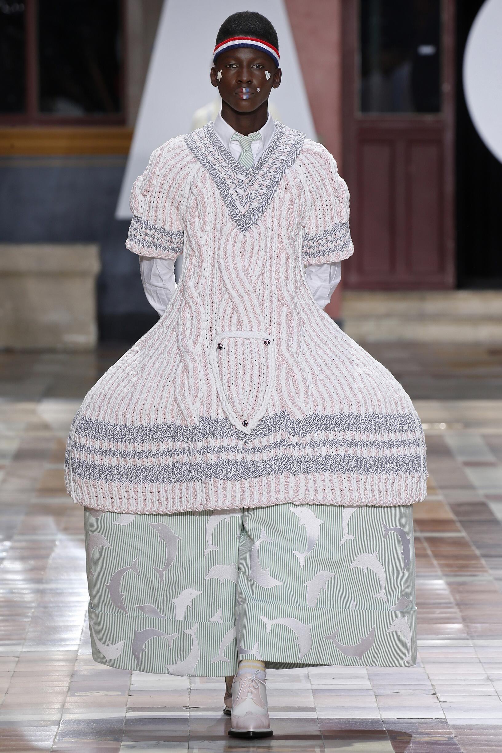 Spring Summer 2020 Man Paris Thom Browne Collection